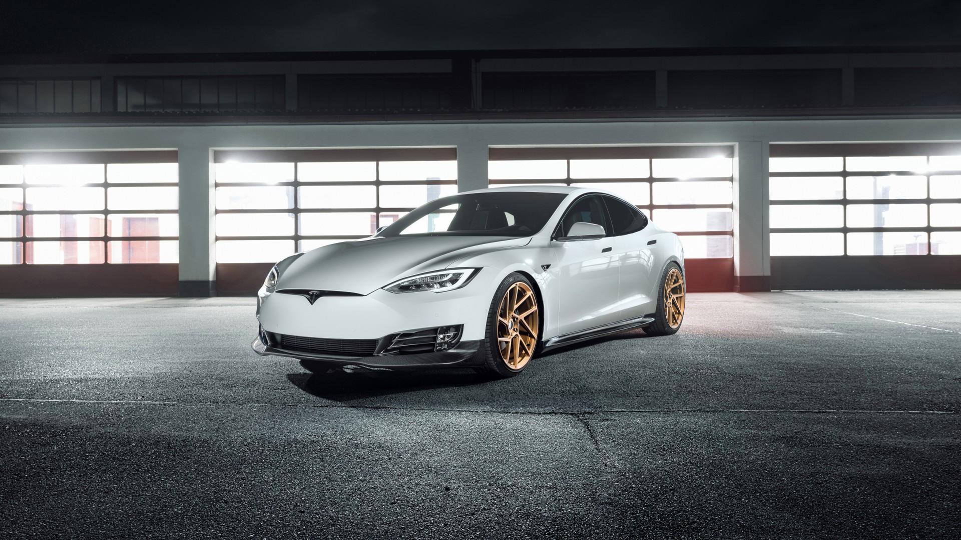 2017 Novitec Tesla Model S 4K 4 Wallpaper | HD Car ...