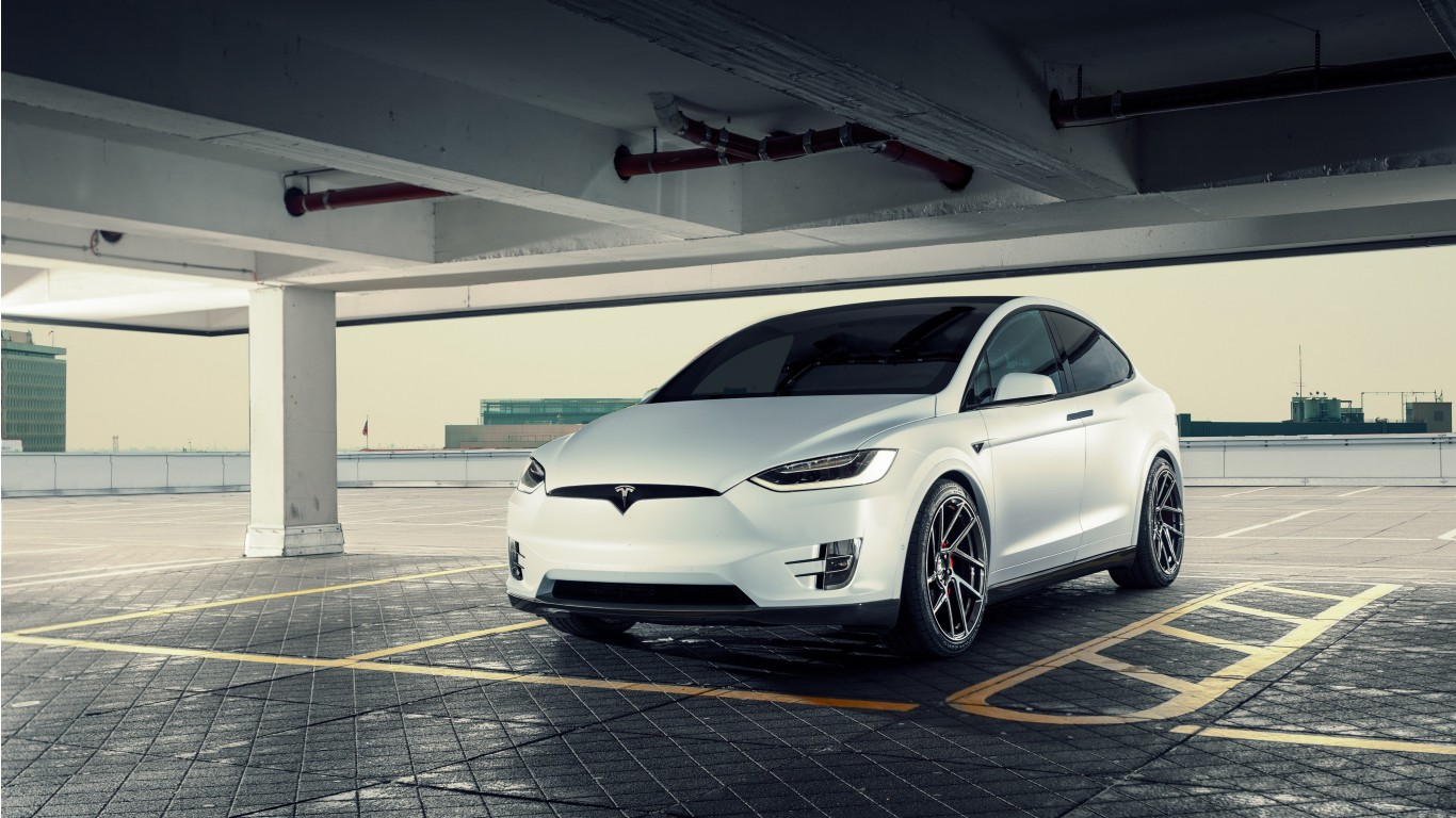 2017 Novitec Tesla Model X Wallpaper Hd Car Wallpapers