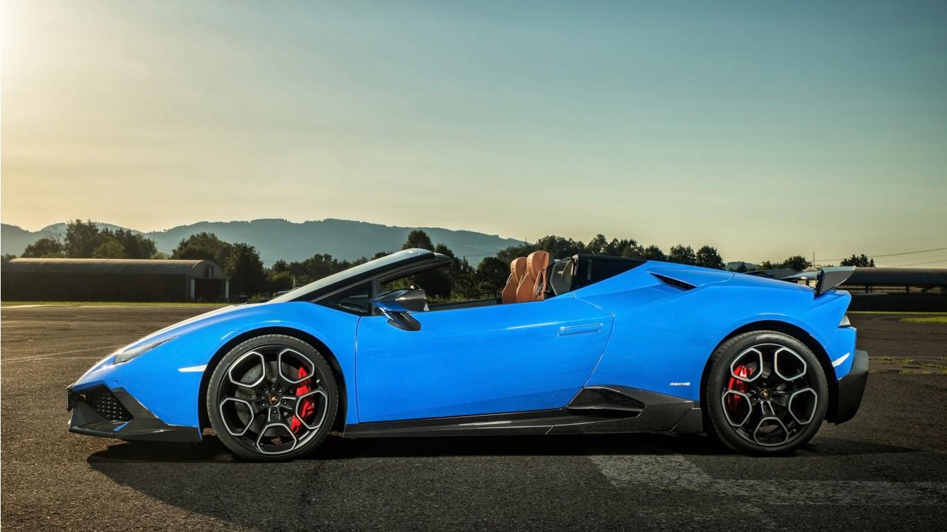 2017 OCT Tuning Lamborghini Huracan Wallpaper
