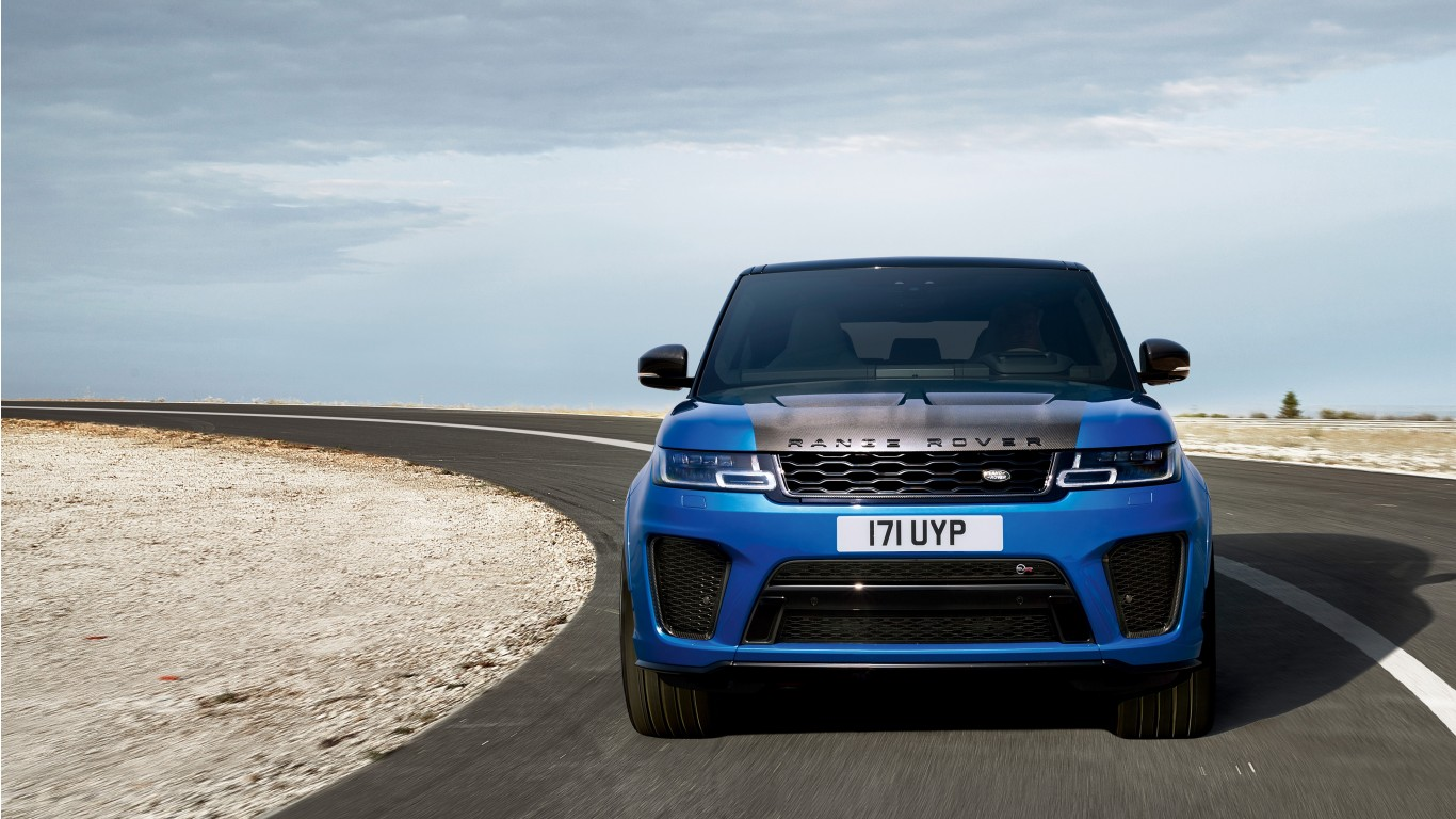 Range Rover Sport Iphone Wallpaper: 2017 Range Rover Sport SVR 4K Wallpaper