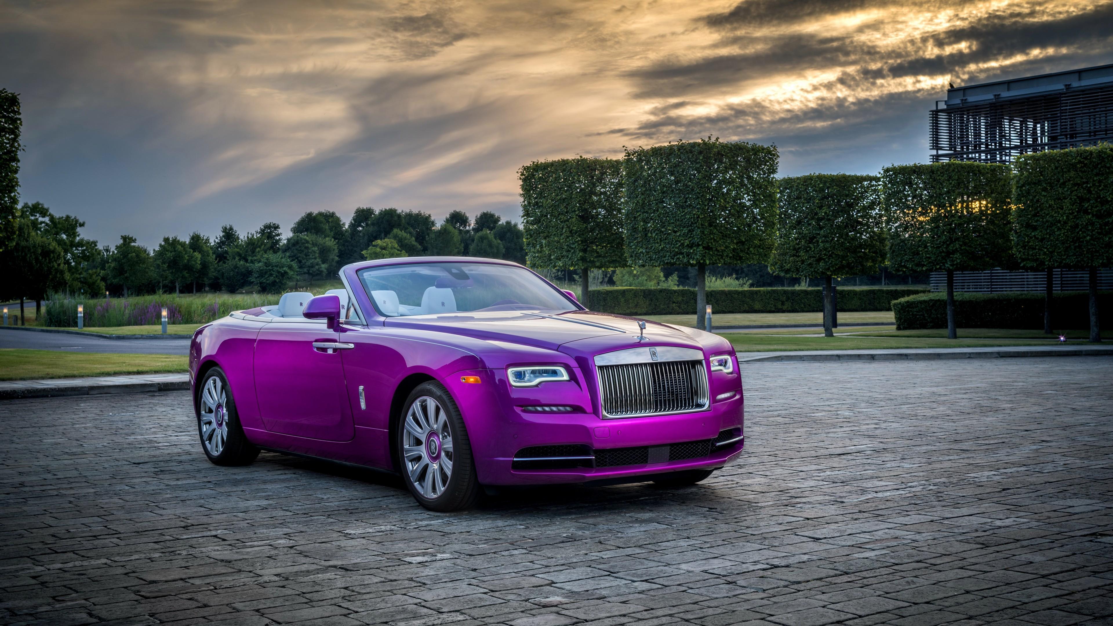 2017 Rolls Royce Dawn In Fuxia 4K Wallpaper   HD Car ...