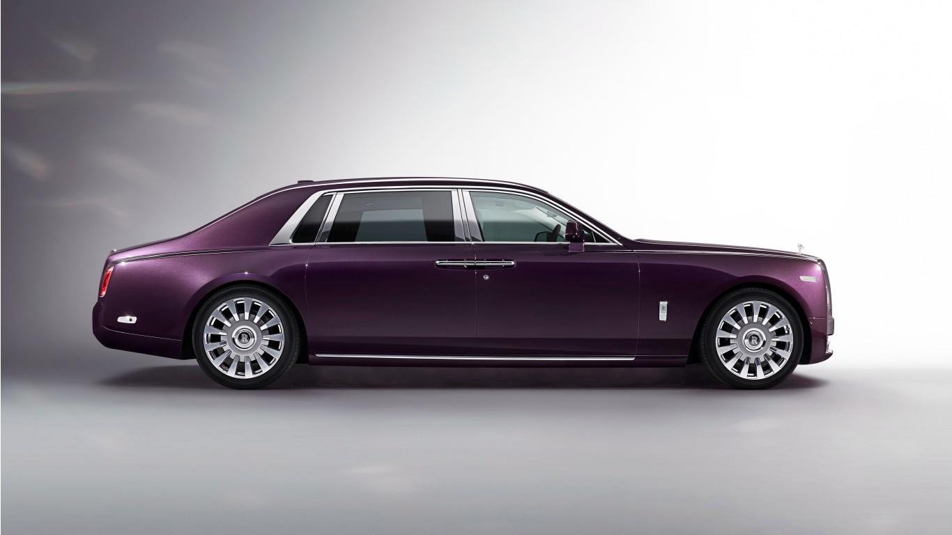 2017 Rolls Royce Phantom Ewb 4k Wallpaper Hd Car