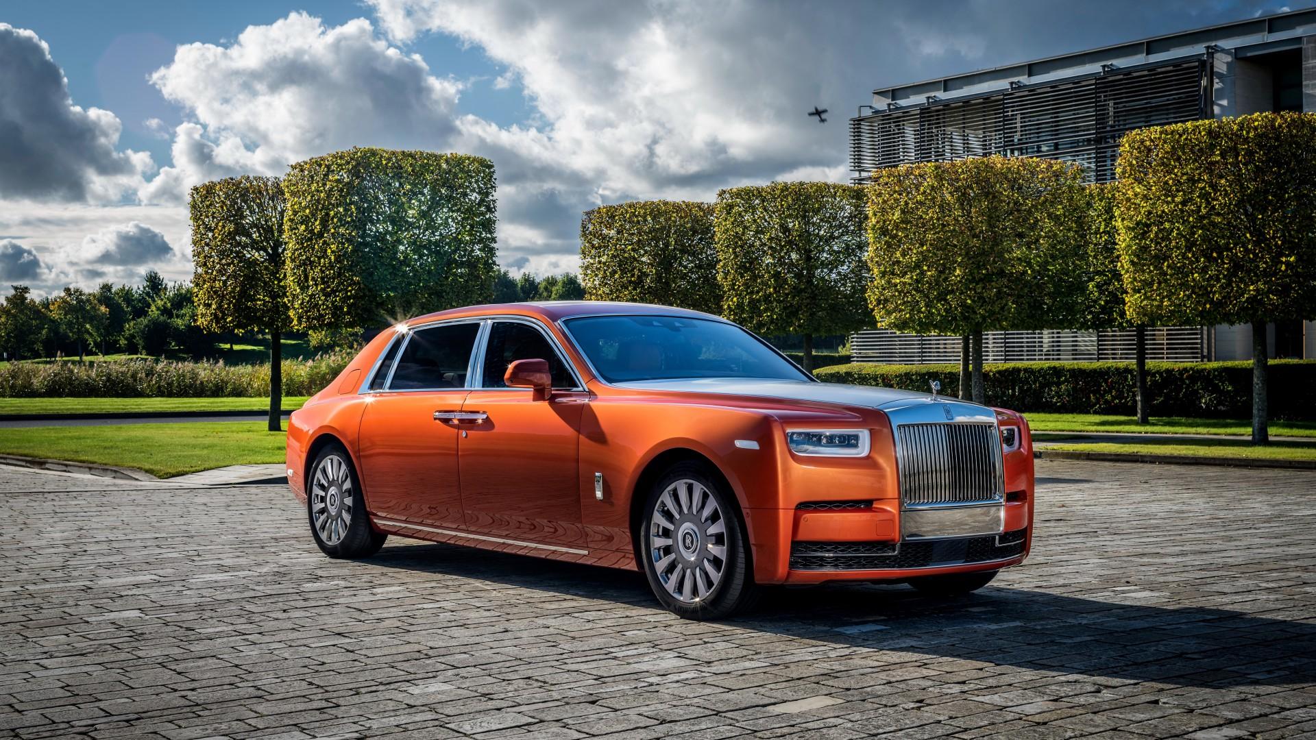2017 Rolls Royce Phantom Ewb Star Of India 4k Wallpaper