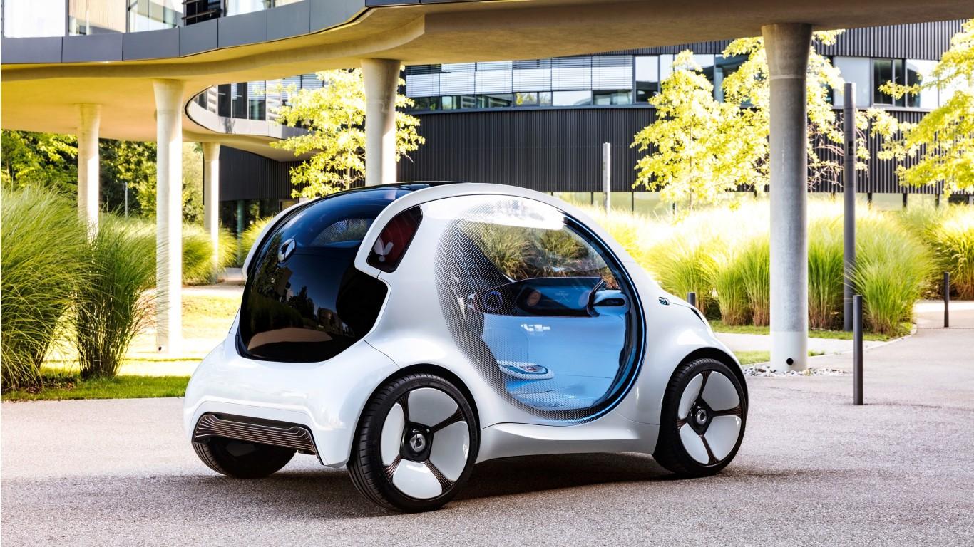 2017 Smart Vision EQ Fortwo 4K 2 Wallpaper | HD Car ...