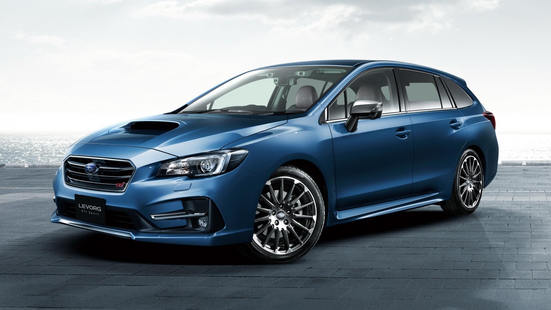 2017 Subaru Levorg Sti Sport Wallpaper Hd Car Wallpapers