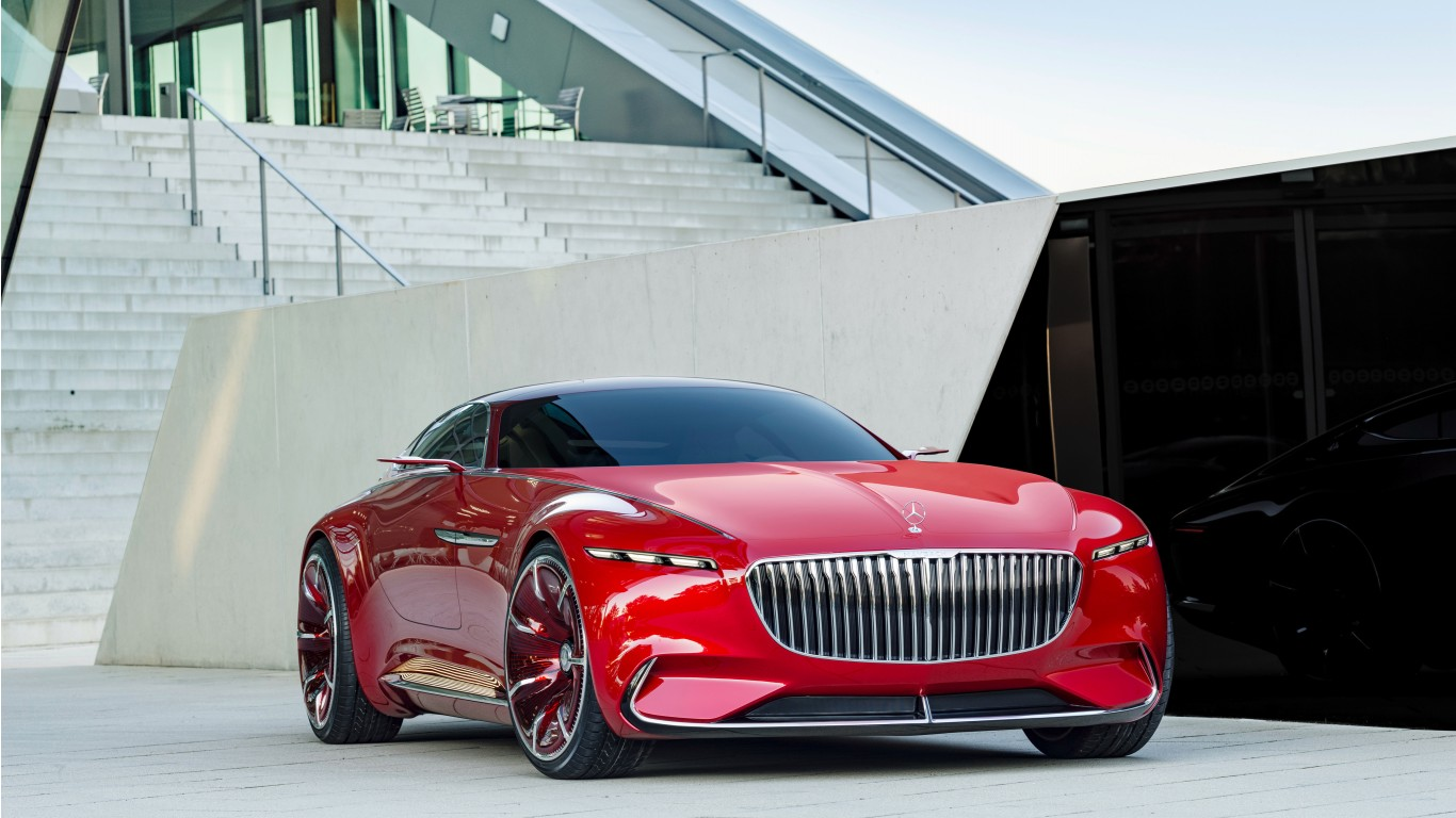 2017 Vision Mercedes Maybach 6 K Wallpaper