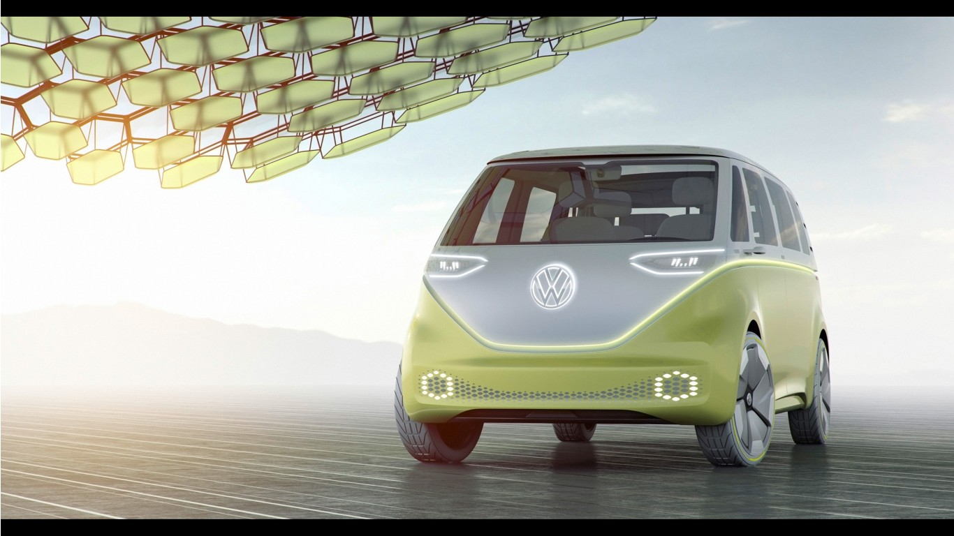 2017 Volkswagen ID Buzz Concept 2 Wallpaper | HD Car Wallpapers | ID #7335