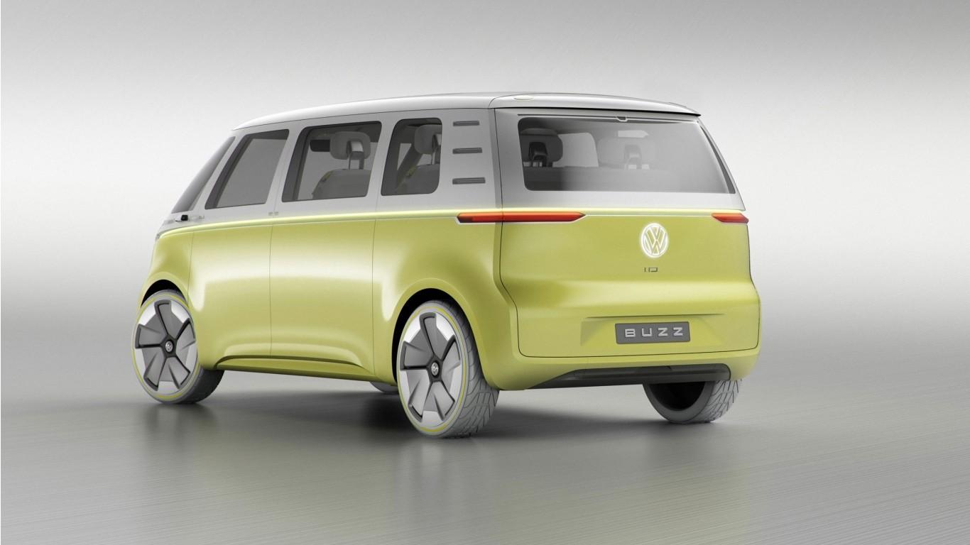 2017 volkswagen id buzz concept 4 wallpaper hd car. Black Bedroom Furniture Sets. Home Design Ideas