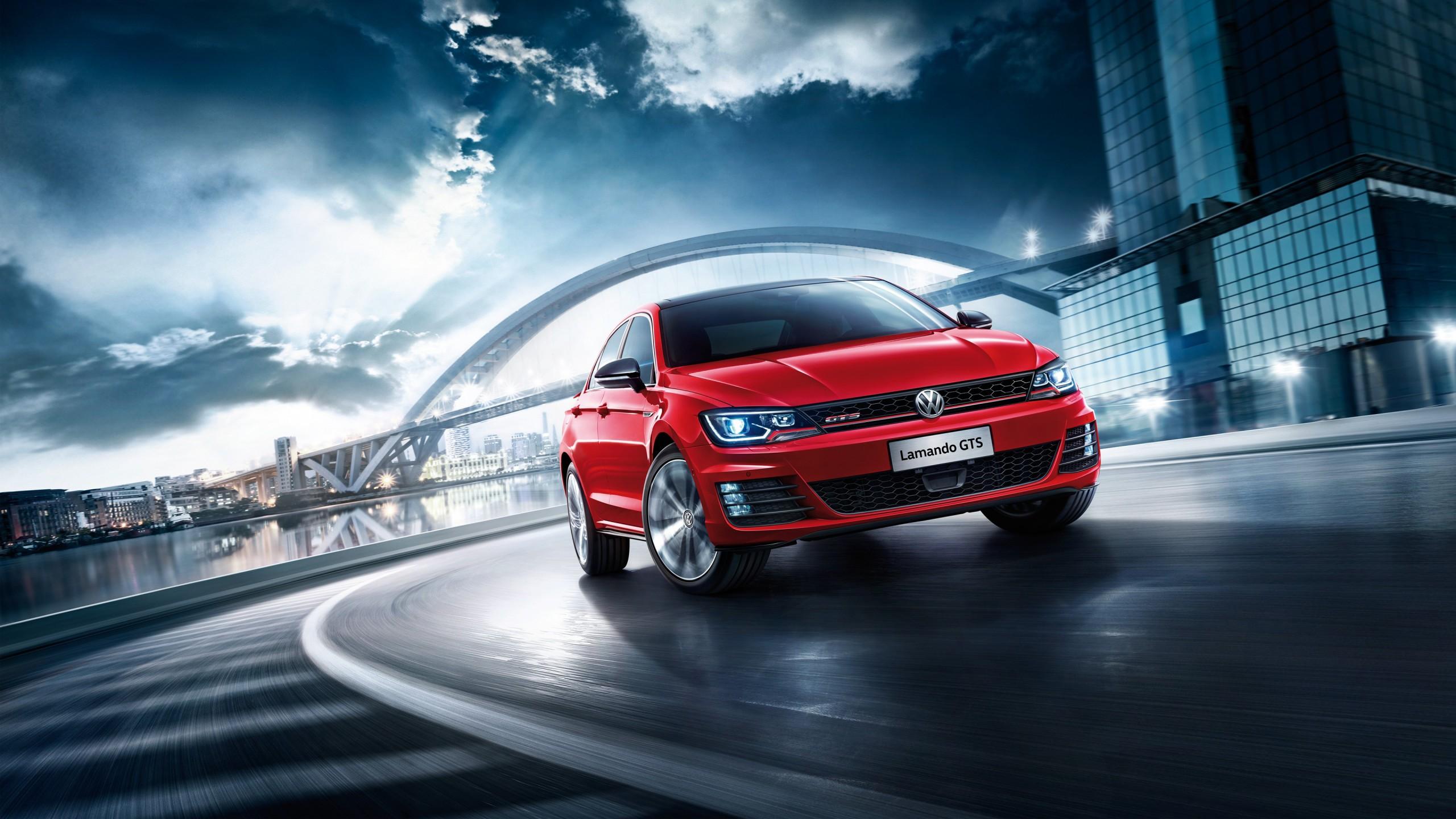 Background Car Hd Wallpapers Cities: 2017 Volkswagen Lamando GTS Wallpaper