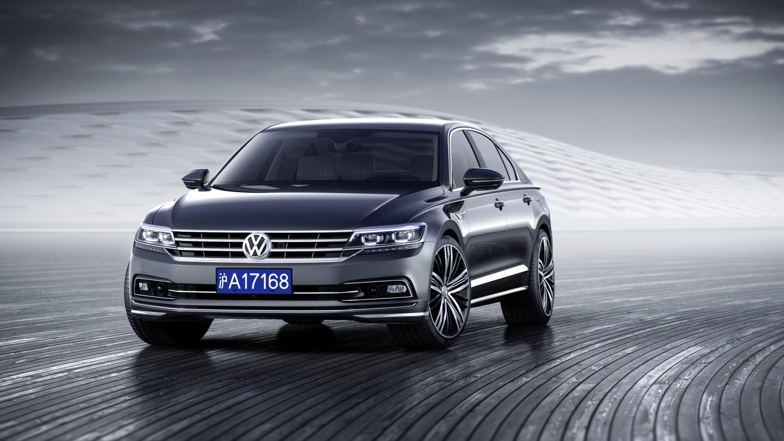 Luxurious Vw Sport Full Hd Car Wallpapers: 2017 Volkswagen Phideon Luxury Sedan Wallpaper