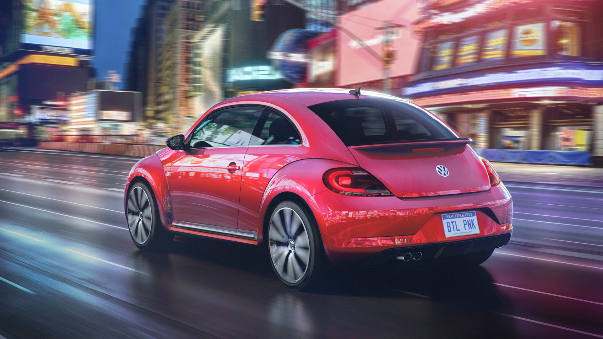 volkswagen pink beetle limited edition  wallpaper hd car wallpapers id