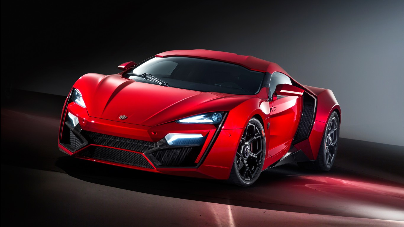2017 W Motors Lykan Hypersport Wallpaper Hd Car Wallpapers