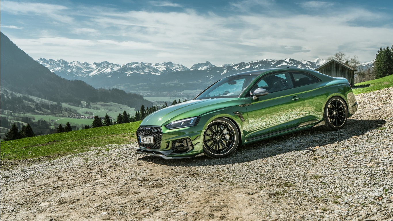 2018 Abt Audi Rs5 R Coupe Wallpaper Hd Car Wallpapers