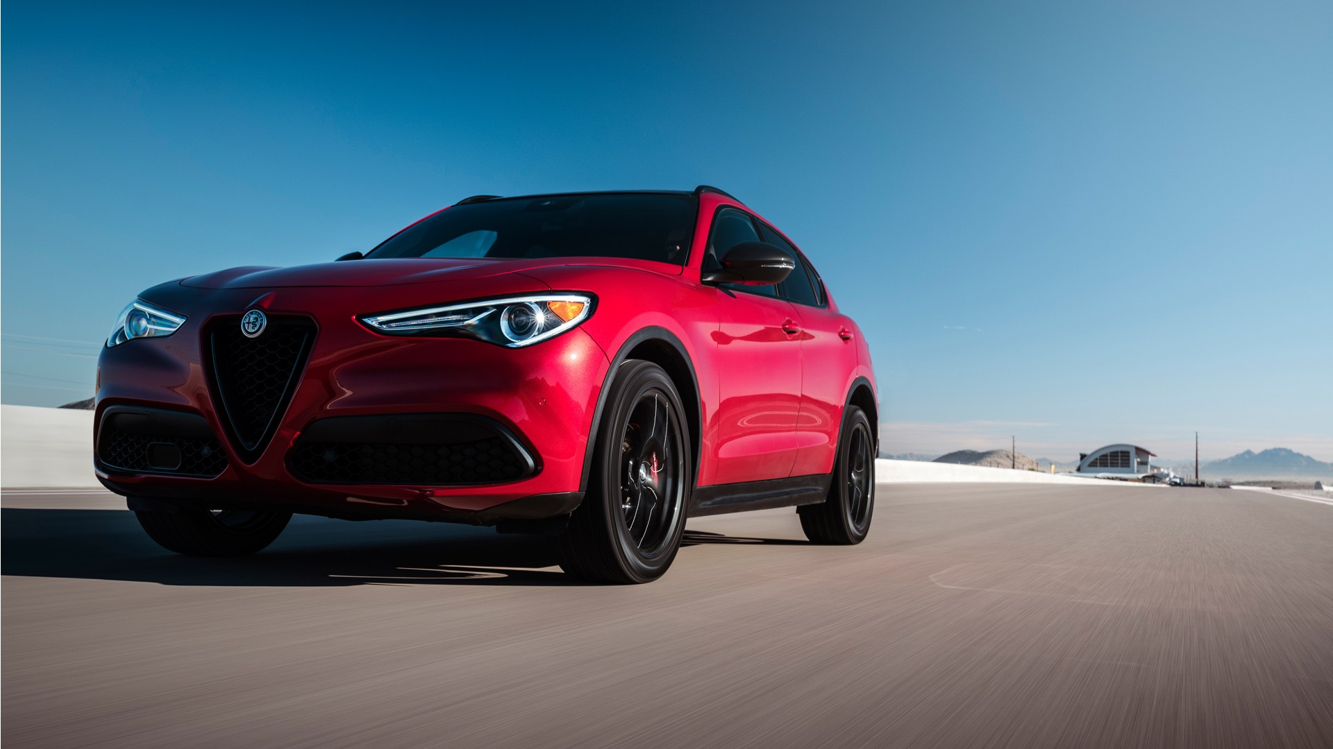 Alfa Romeo Suv >> 2018 Alfa Romeo Stelvio Nero Edizione Wallpaper | HD Car Wallpapers | ID #10102