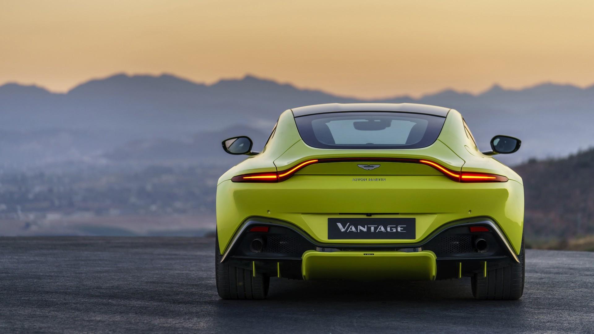 2018 Aston Martin Vantage 4K 6 Wallpaper HD Car