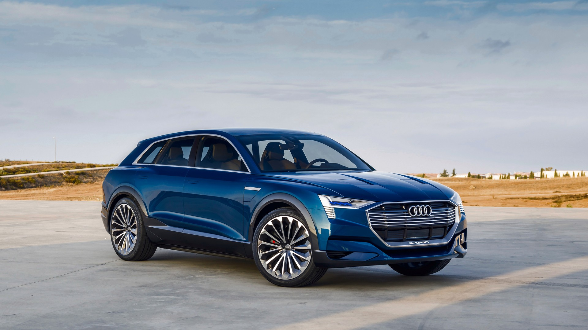2018 Audi e Tron Quattro Concept Wallpaper  HD Car Wallpapers