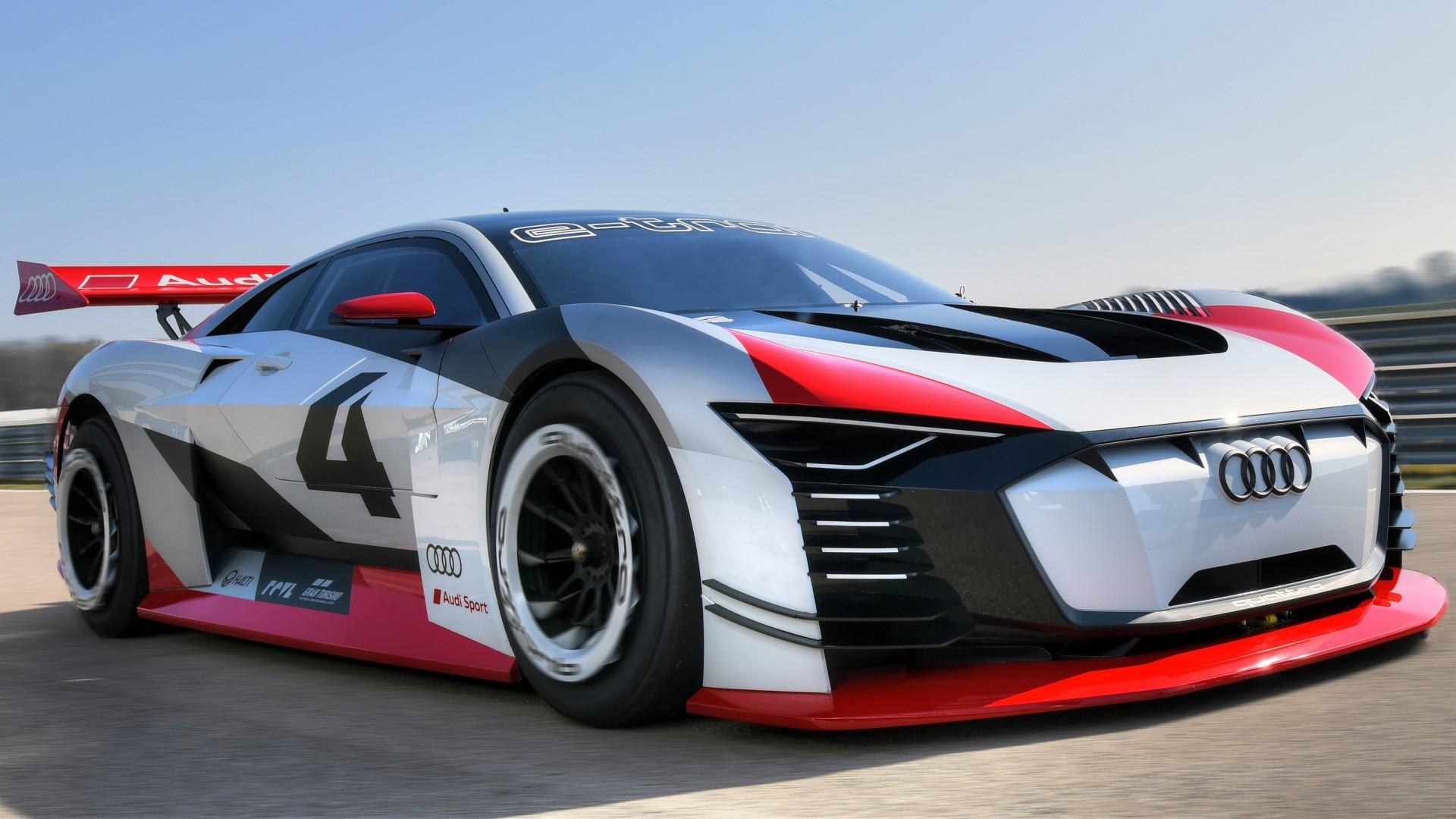 2018 Audi e tron Vision Gran Turismo 4K Wallpaper | HD Car ...