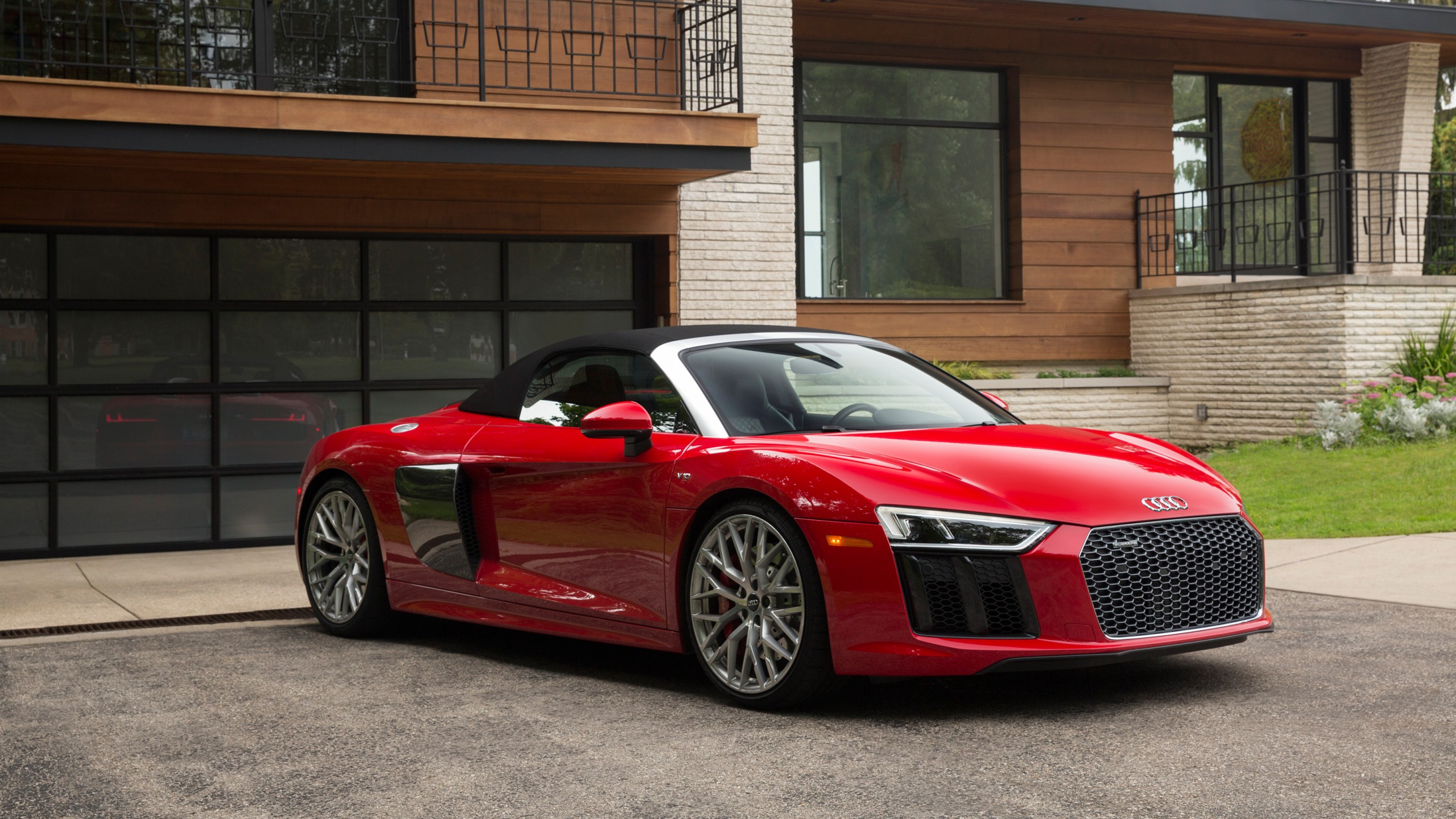 2018 Audi R8 Spyder V10 Plus Wallpaper Hd Car Wallpapers