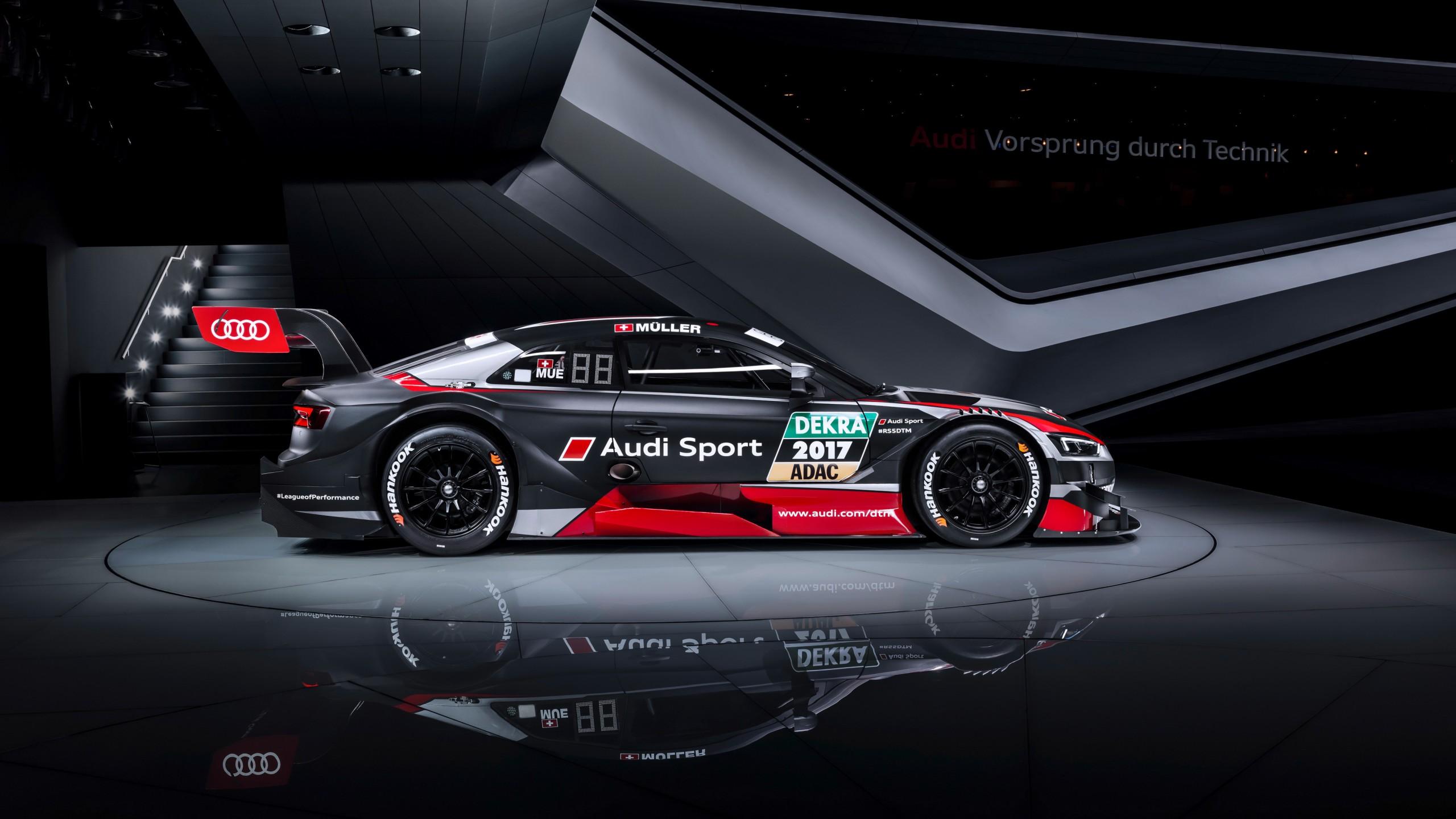 2018 Best Car Wallpapers: 2018 Audi RS 5 Coupe DTM 4K Wallpaper