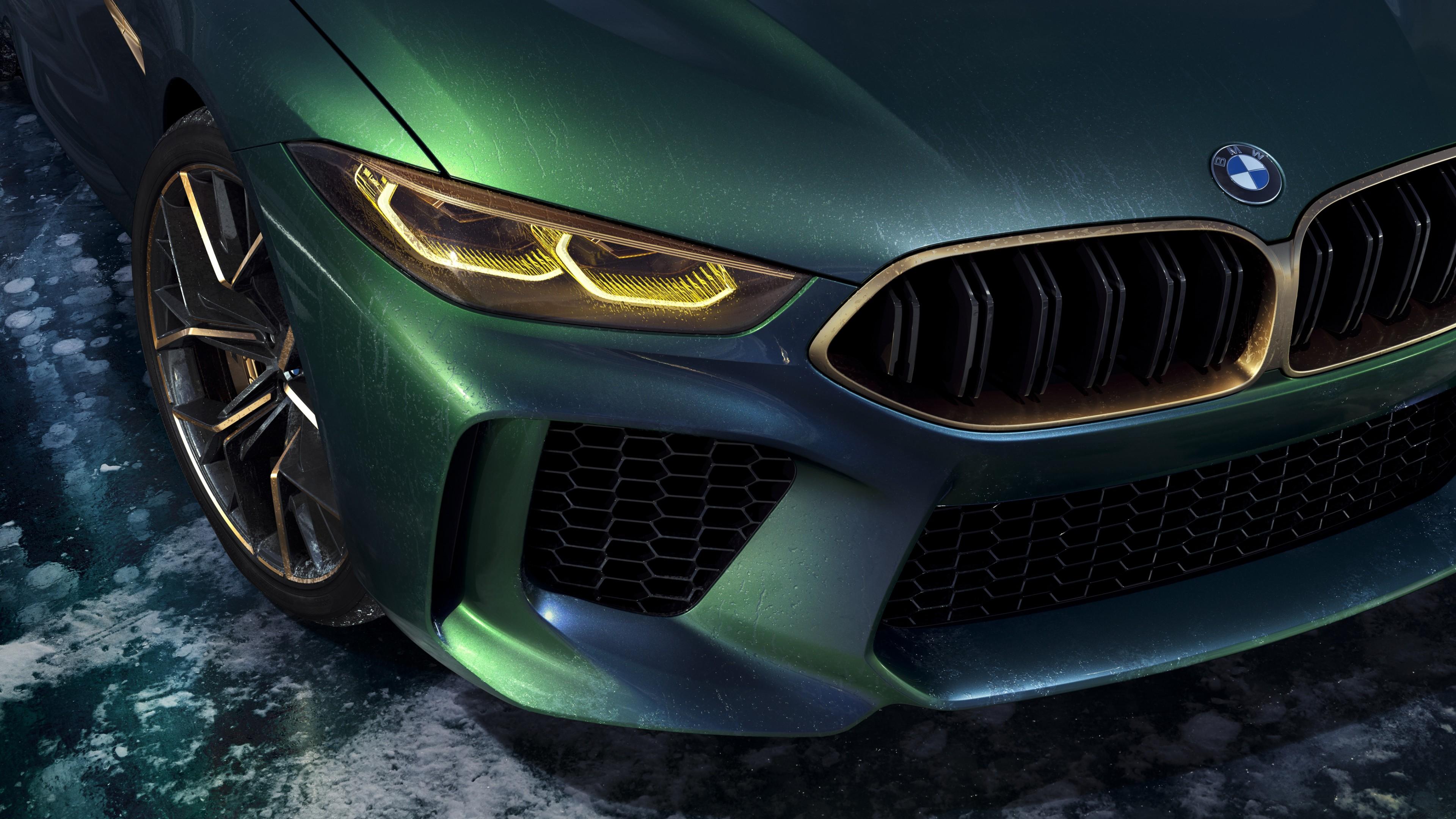 2018 BMW Concept M8 Gran Coupe 4K Wallpaper | HD Car ...