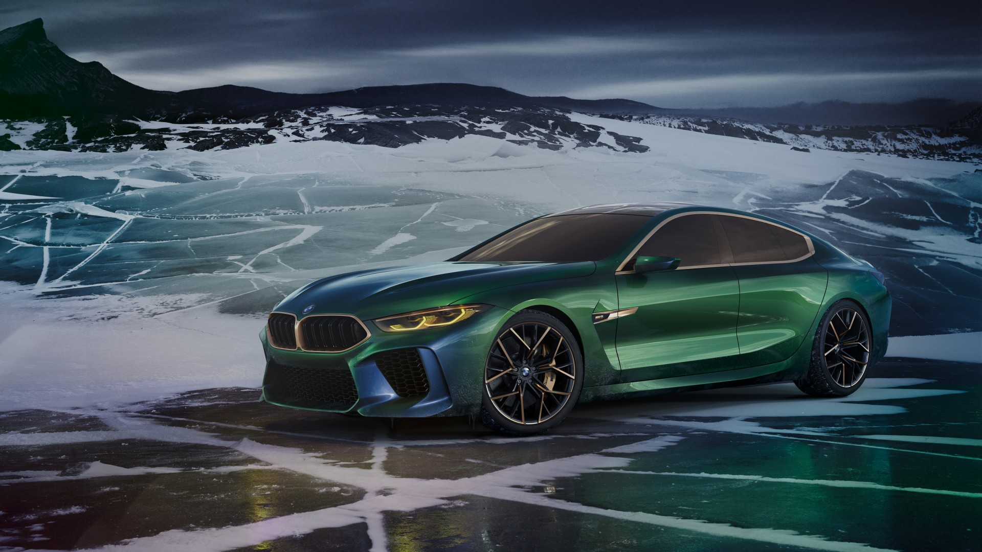 2018 Bmw Concept M8 Gran Coupe 4k 2 Wallpaper Hd Car