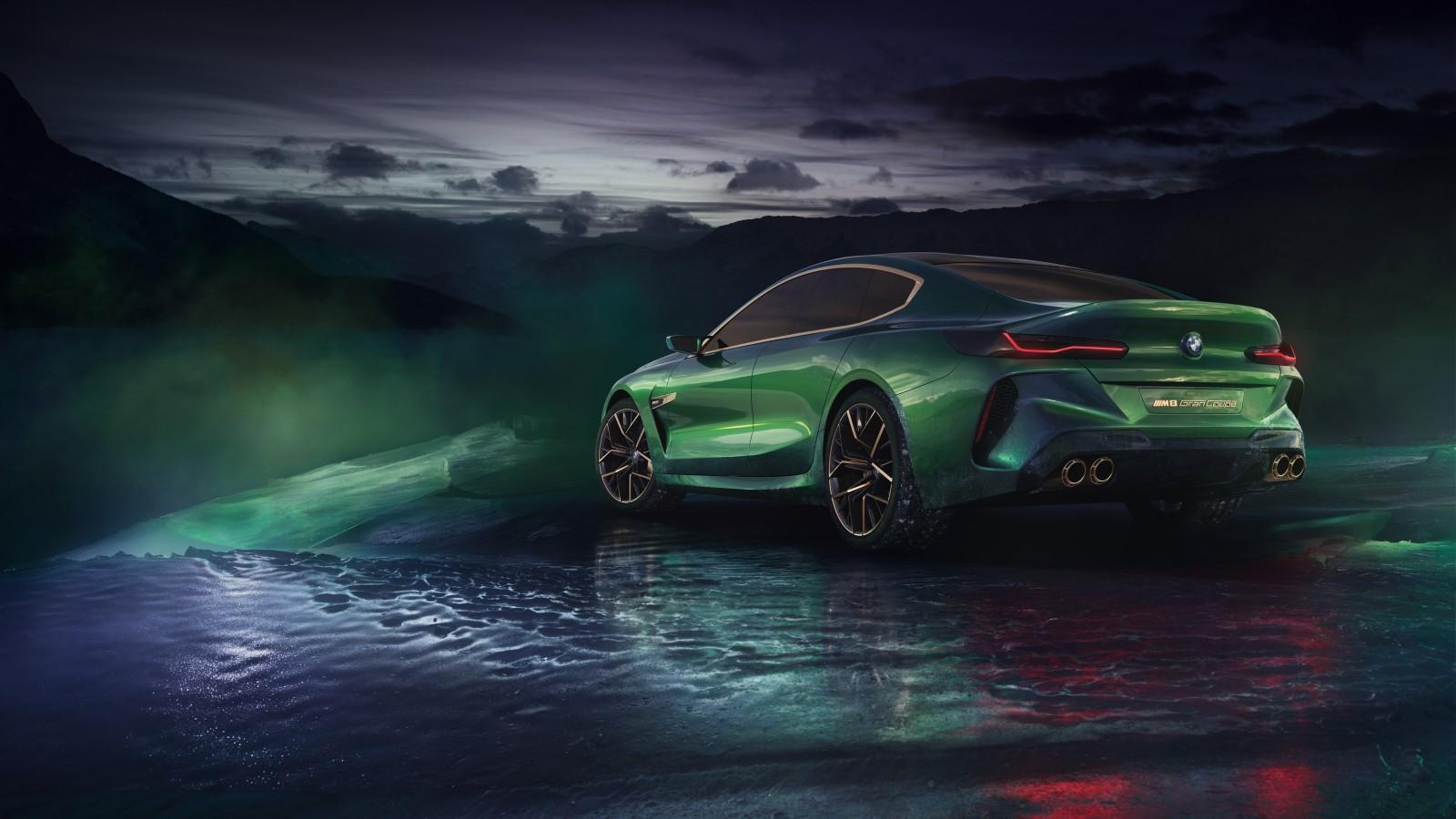 2018 BMW Concept M8 Gran Coupe 4K 4 Wallpaper