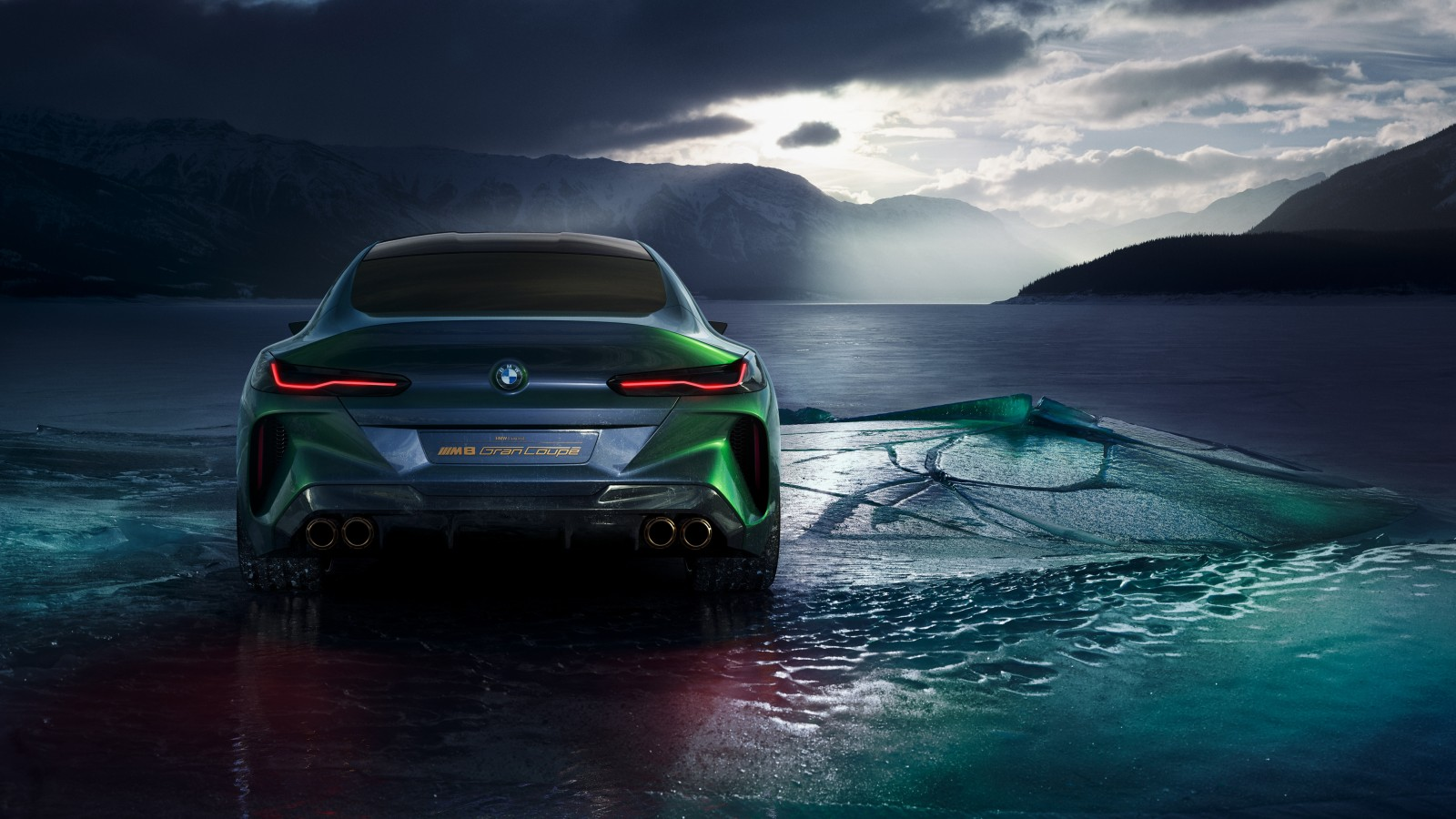 2018 BMW Concept M8 Gran Coupe 4K 5 Wallpaper