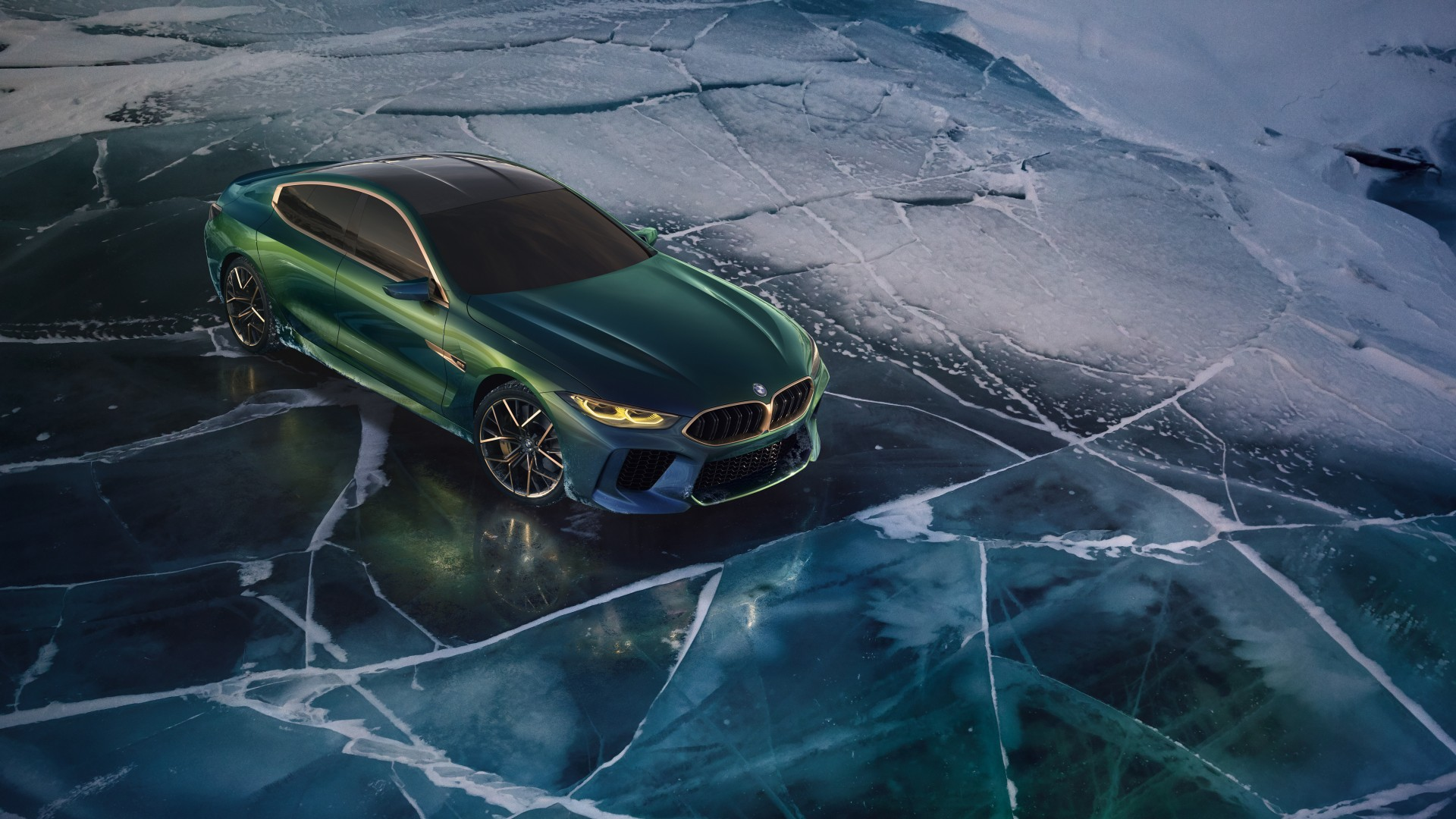 Bmw M4 Coupe >> 2018 BMW Concept M8 Gran Coupe 4K 6 Wallpaper | HD Car Wallpapers | ID #9909