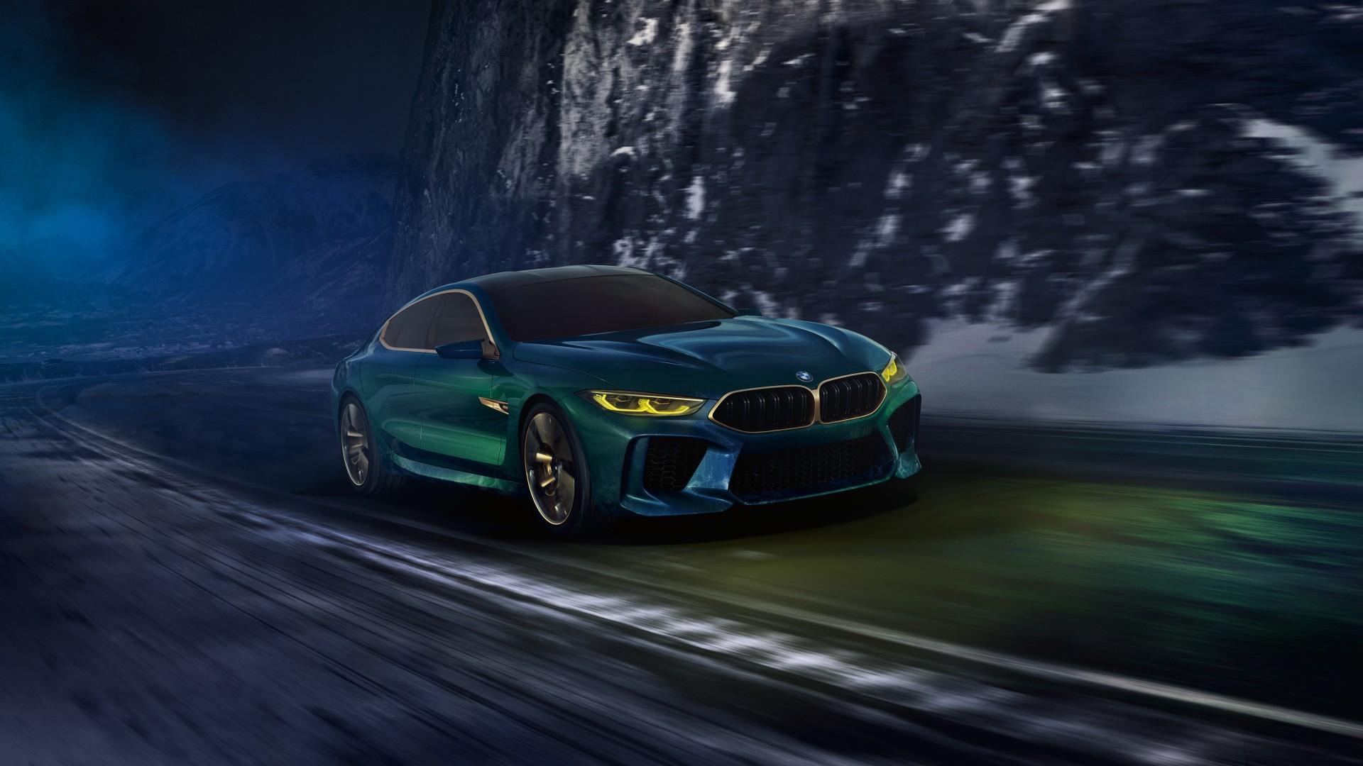 2018 BMW Concept M8 Gran Coupe 4K 9 Wallpaper | HD Car ...