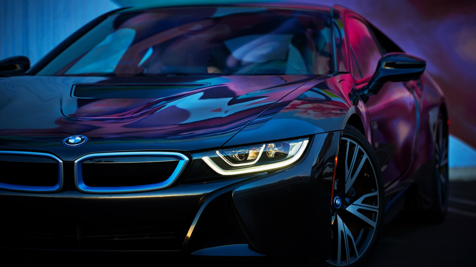 2018 BMW I8 4K Wallpaper