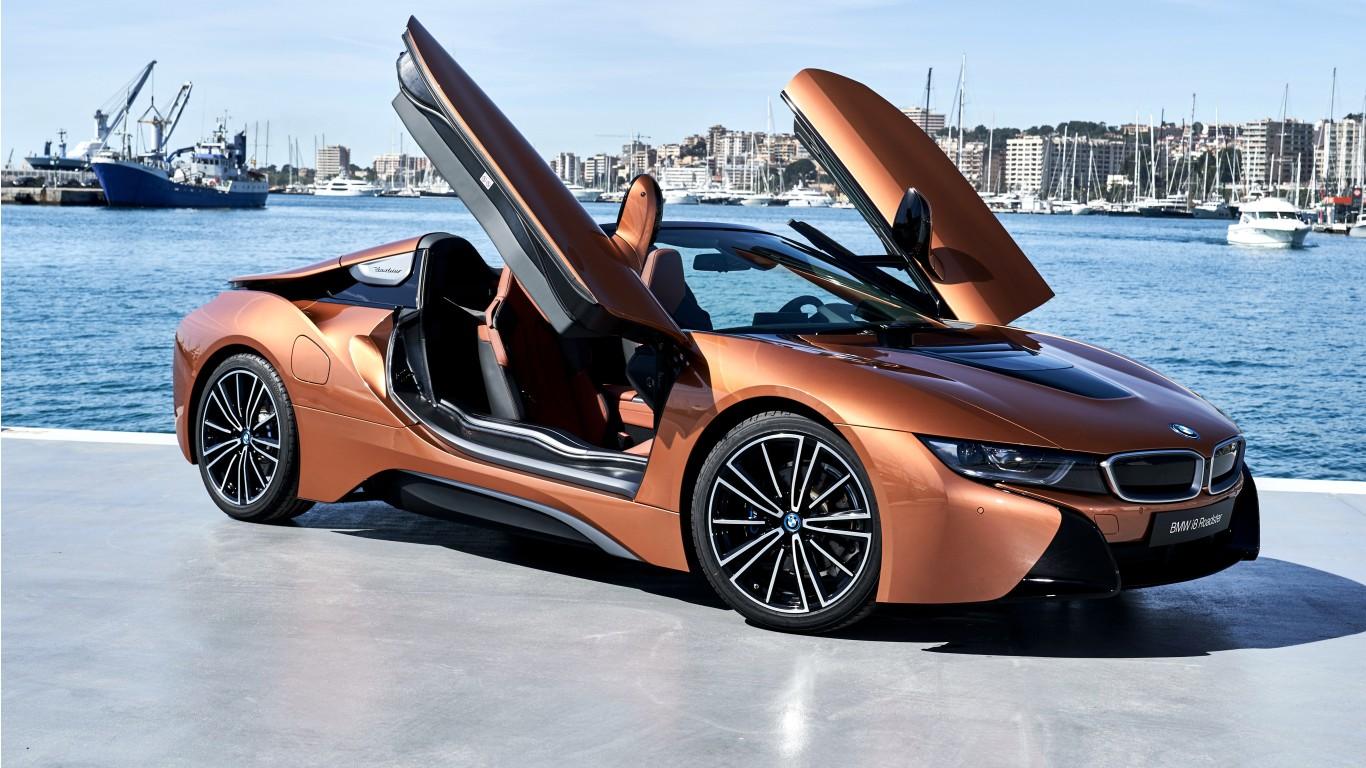 2018 BMW i8 Roadster 4K Wallpaper | HD Car Wallpapers | ID ...