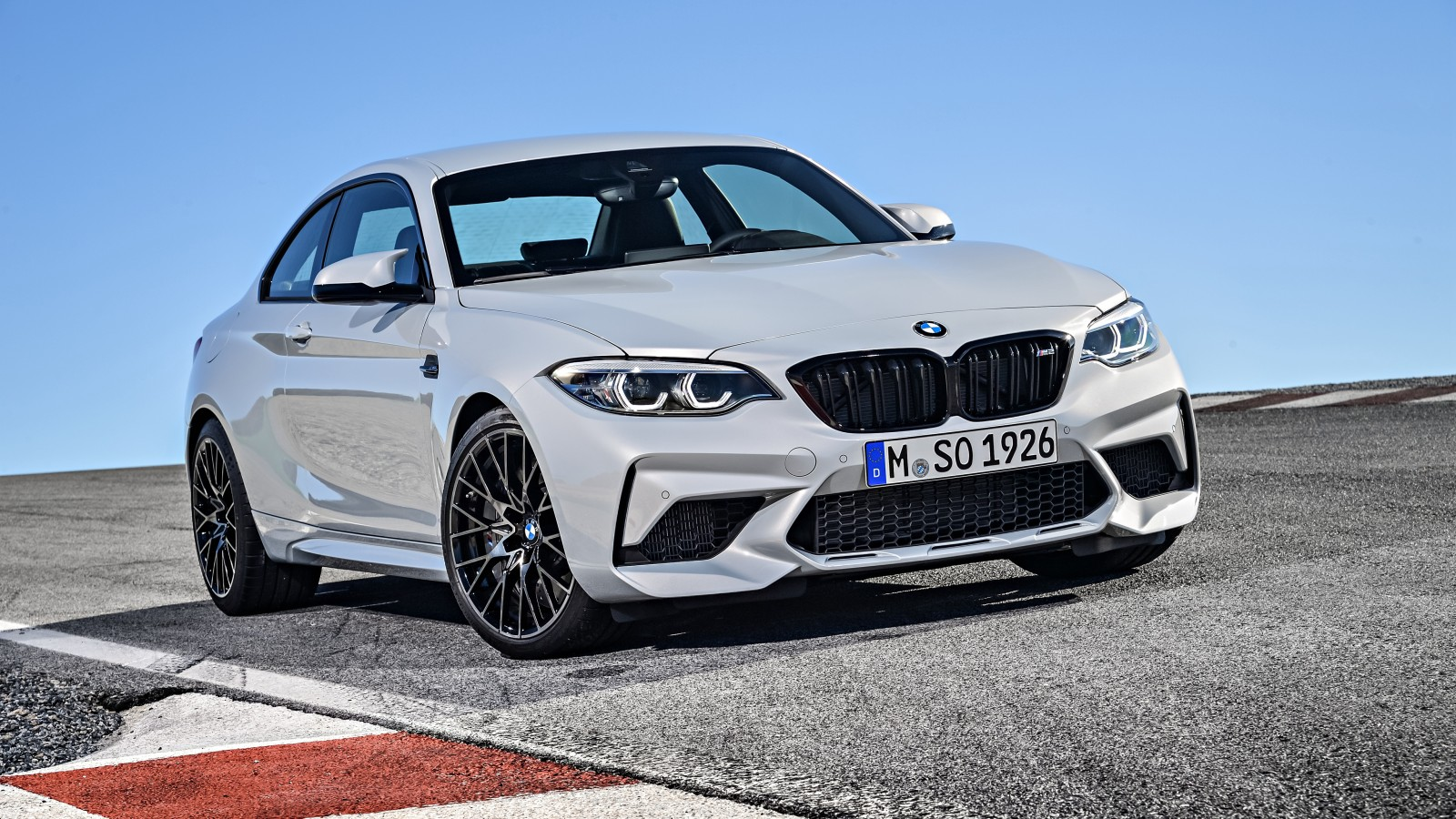 2018 BMW M2 Competition 4K 3 Wallpaper