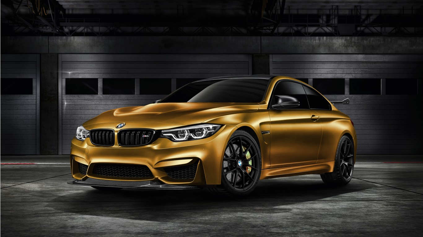 BMW M4 Coupe >> 2018 BMW M4 GTS SunburstGold 4K Wallpaper | HD Car ...