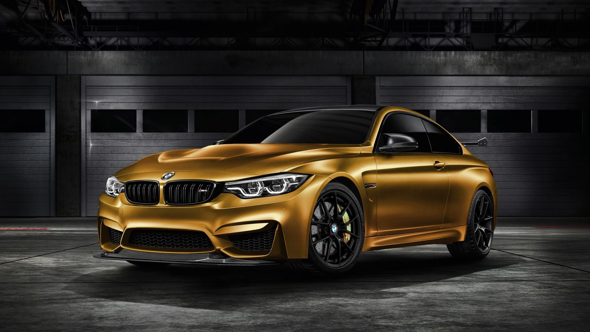 2018 BMW M4 GTS SunburstGold 4K Wallpaper | HD Car ...