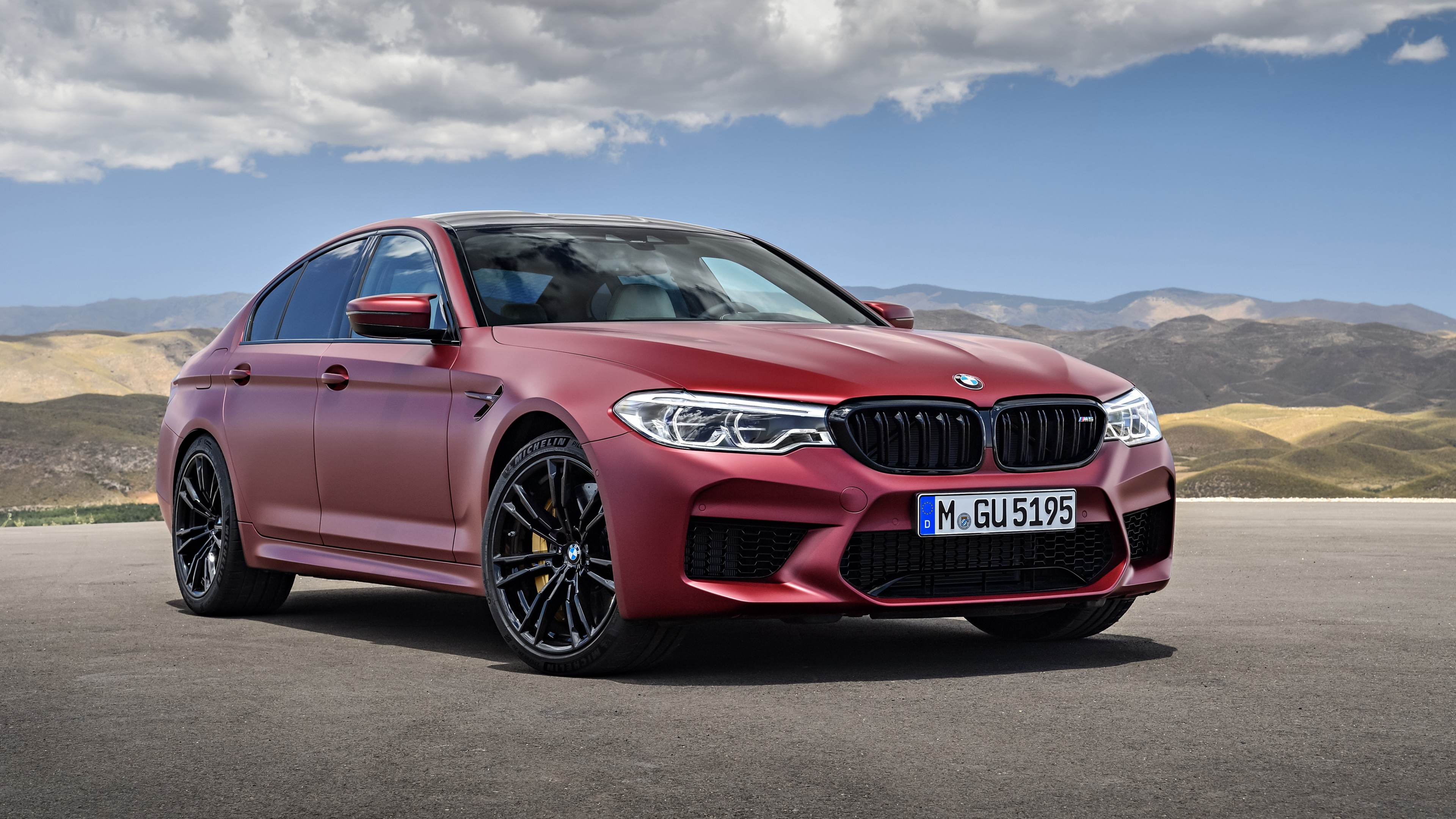 2018 Bmw M5 First Edition Wallpaper Hd Car Wallpapers