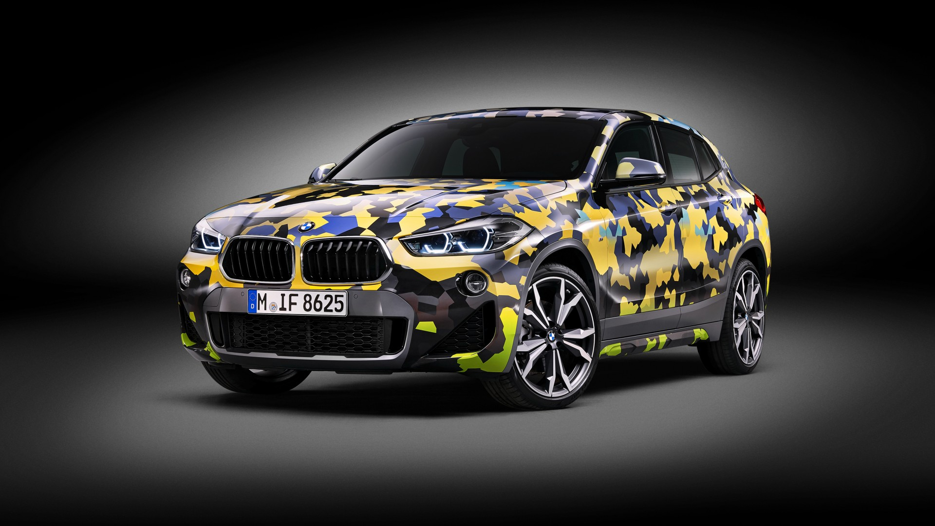 2018 Bmw X2 Digital Camo Concept 4k Wallpaper Hd Car