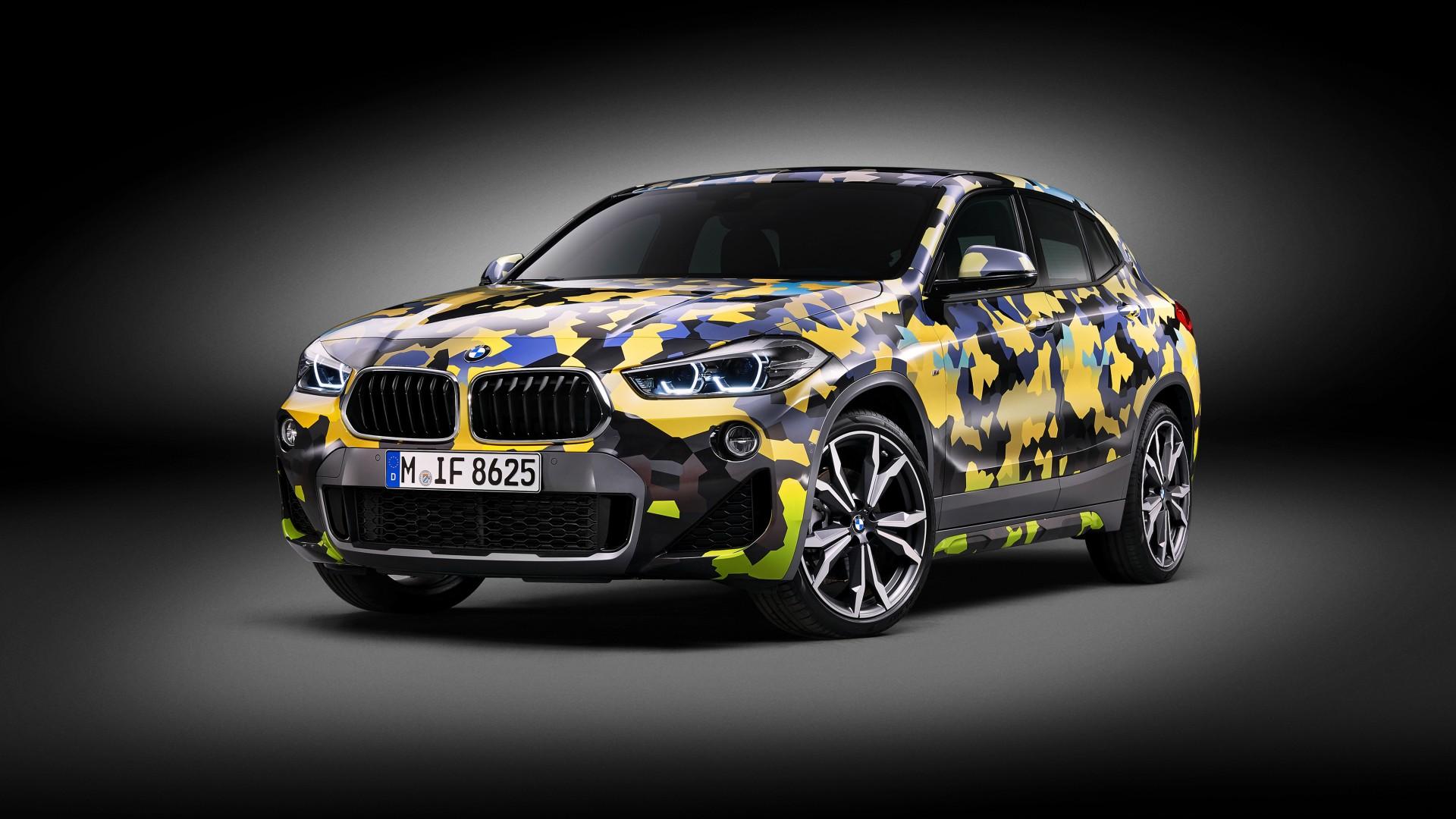2018 Bmw X2 Digital Camo Concept 4k Wallpaper Hd Car