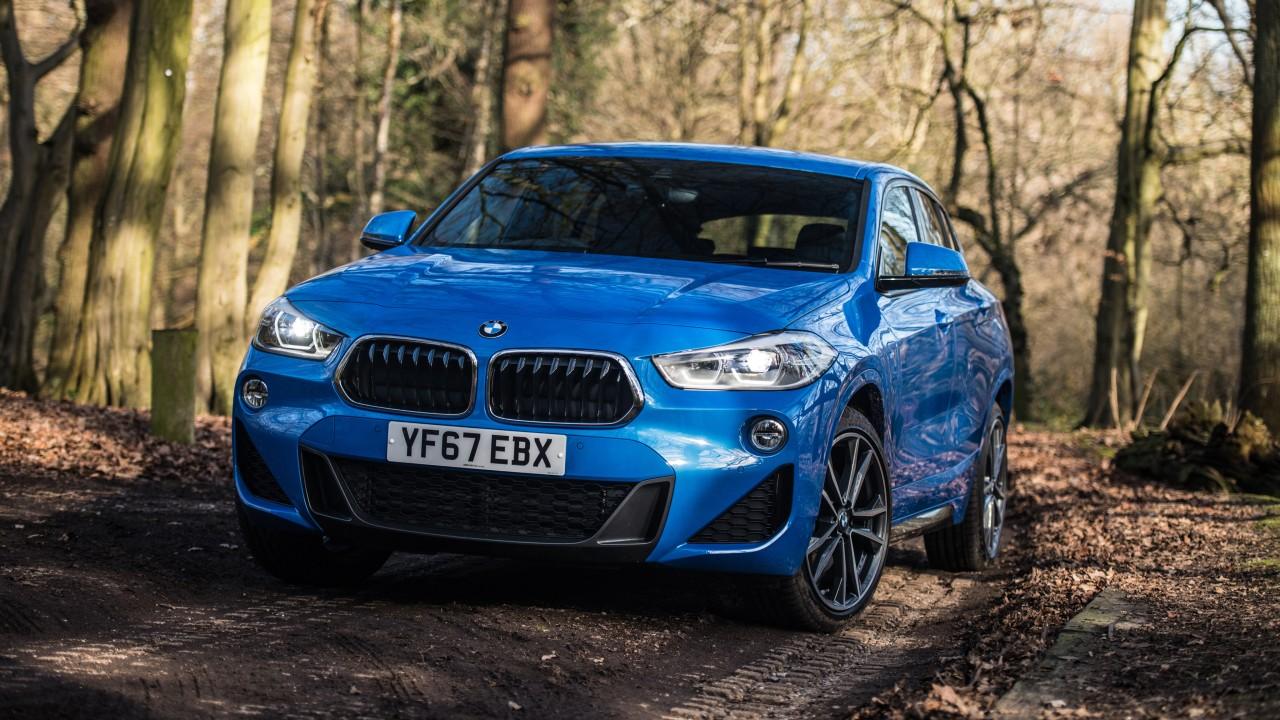 2018 BMW X2 XDrive20d M Sport 4K Wallpaper