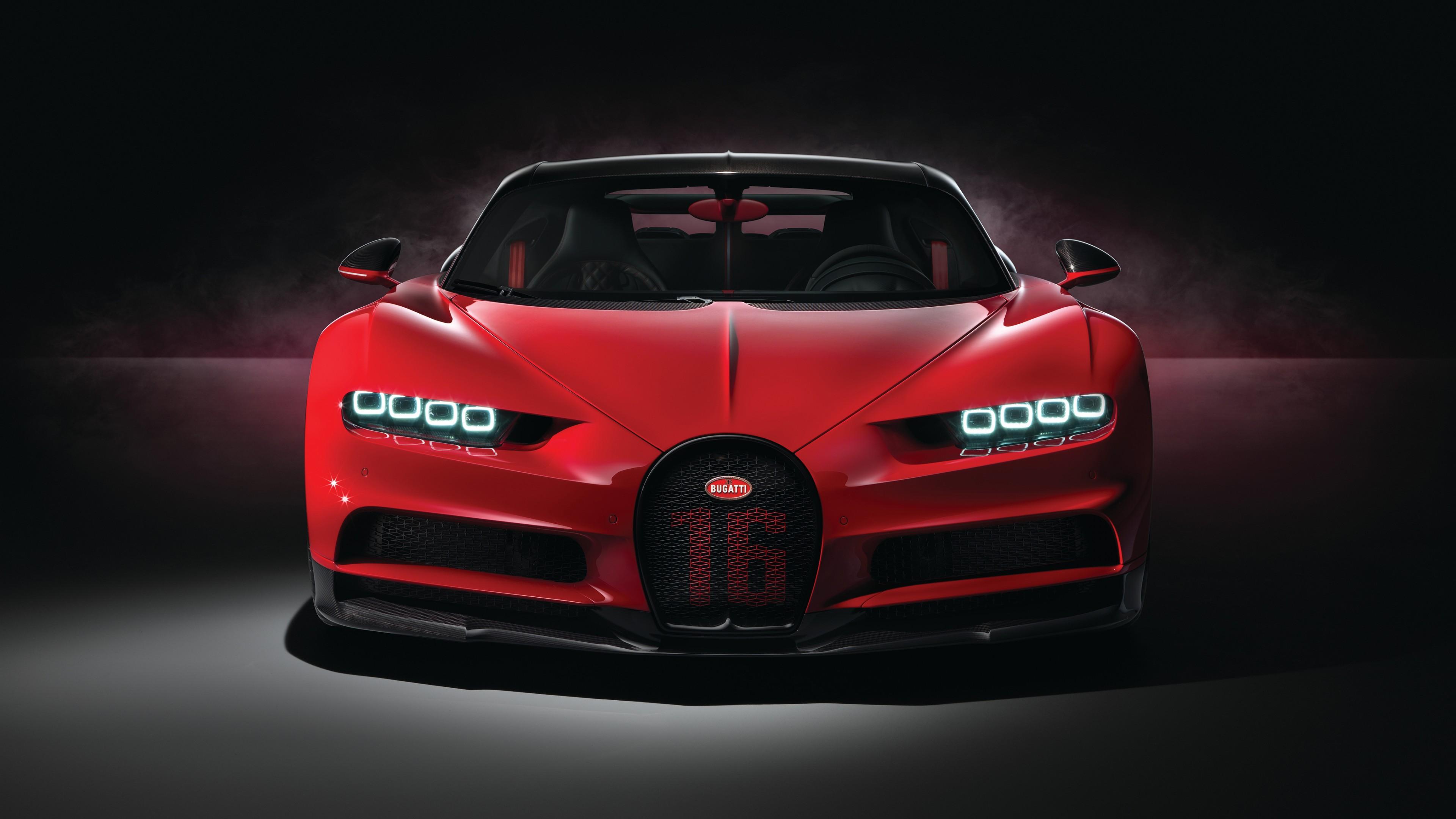 2018 Bugatti Chiron Sport 4k 4 Wallpaper Hd Car Wallpapers Id 9960