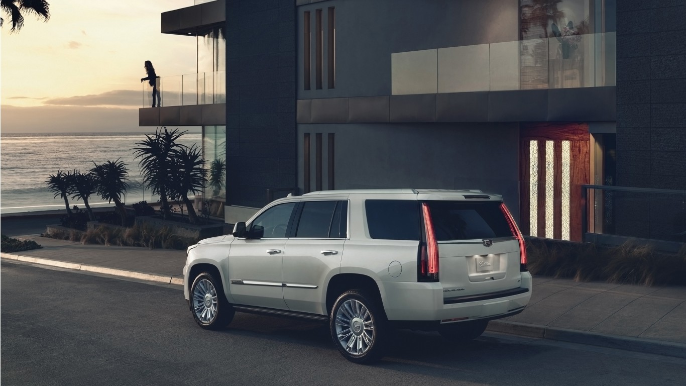 2018 Cadillac Escalade 2 Wallpaper | HD Car Wallpapers ...