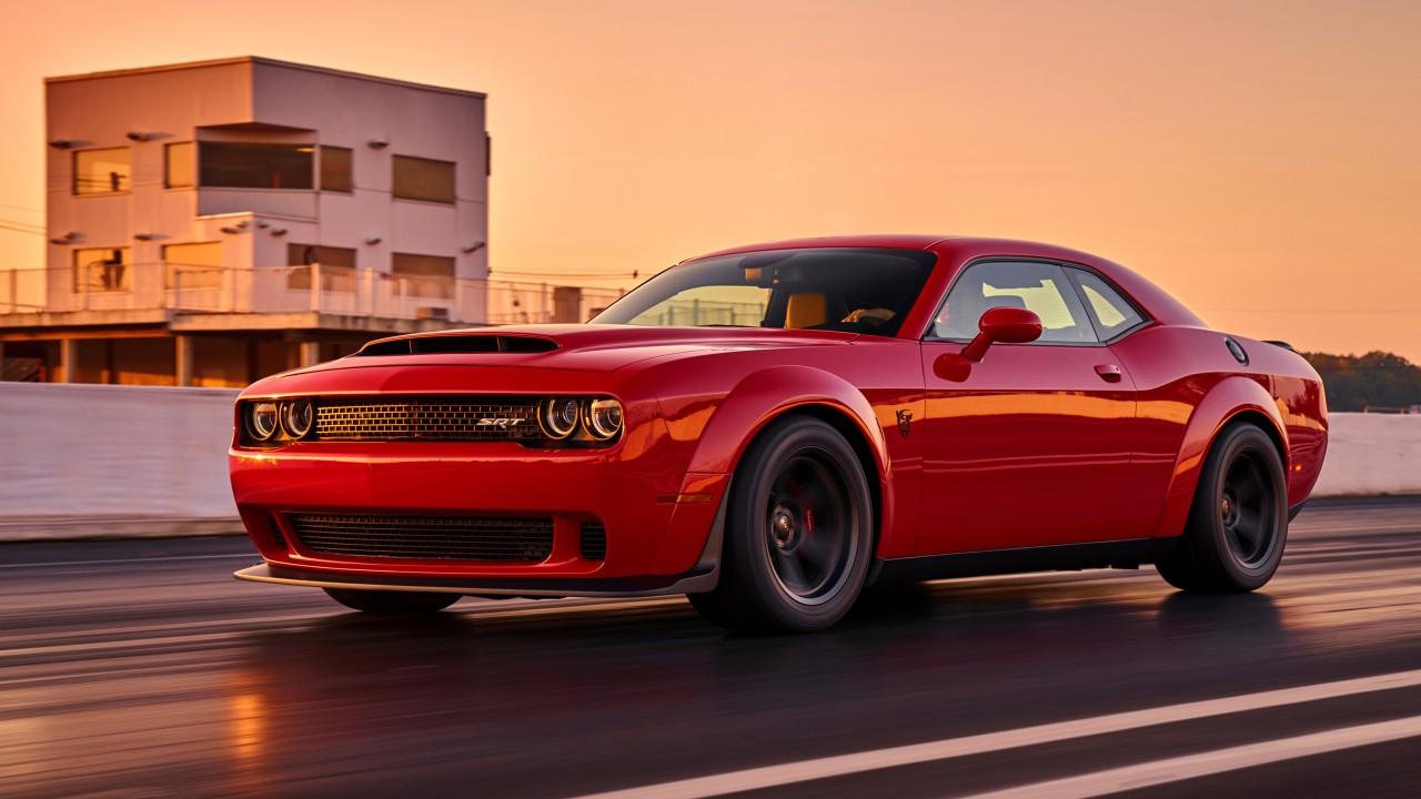 2018 Dodge Challenger Srt Demon 10 Wallpaper Hd Car