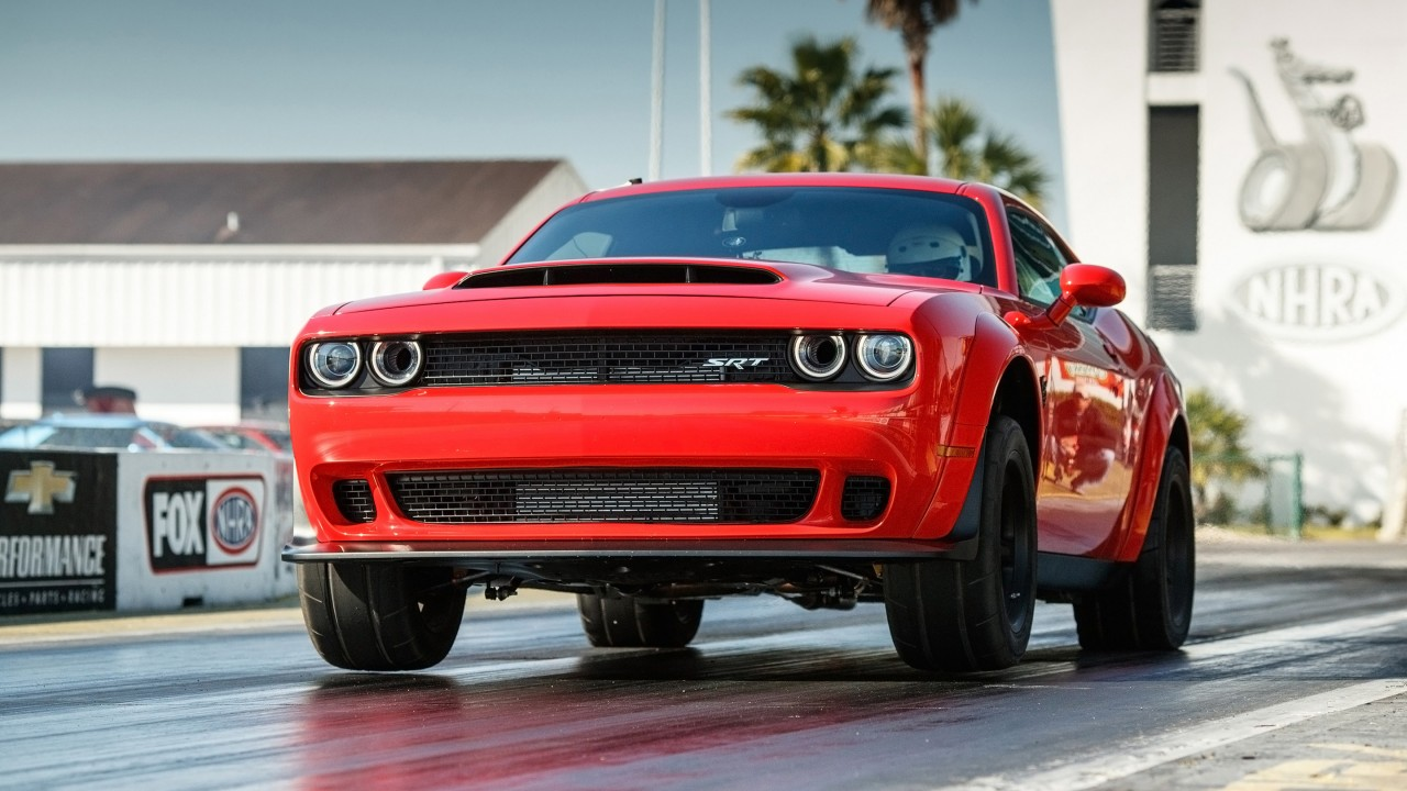2018 Dodge Challenger SRT Demon 4 Wallpaper HD Car