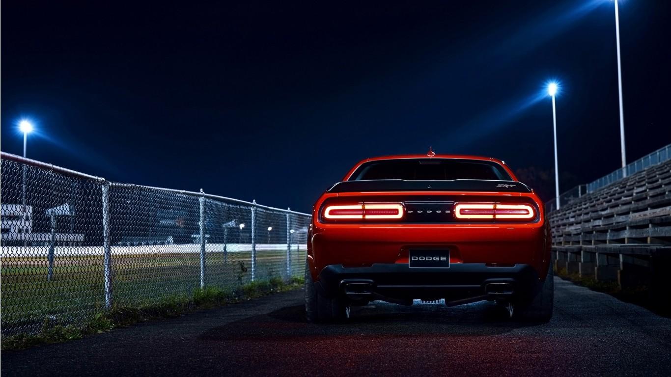 2018 Dodge Challenger Srt Demon 6 Wallpaper Hd Car