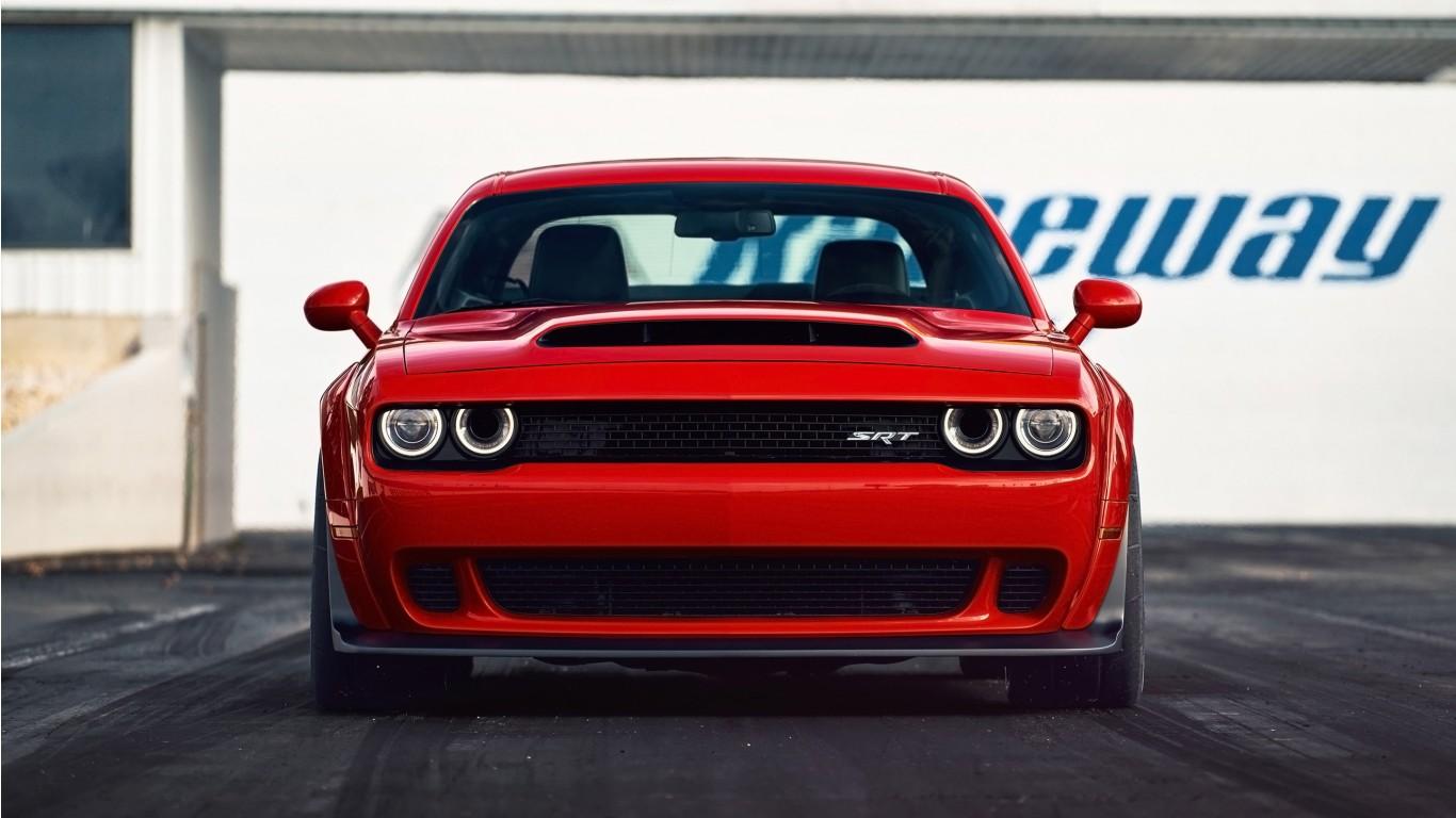 2018 Dodge Challenger Srt Demon 8 Wallpaper Hd Car Wallpapers Id 7888