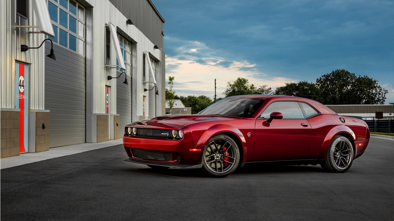 2018 Dodge Challenger SRT Hellcat Widebody Wallpaper | HD ...