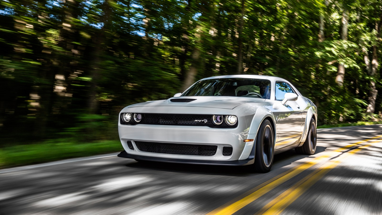 2018 Dodge Challenger Srt Hellcat Widebody 4 Wallpaper