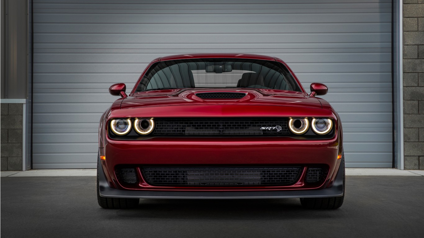 2018 Dodge Challenger Srt Hellcat Widebody 5 Wallpaper
