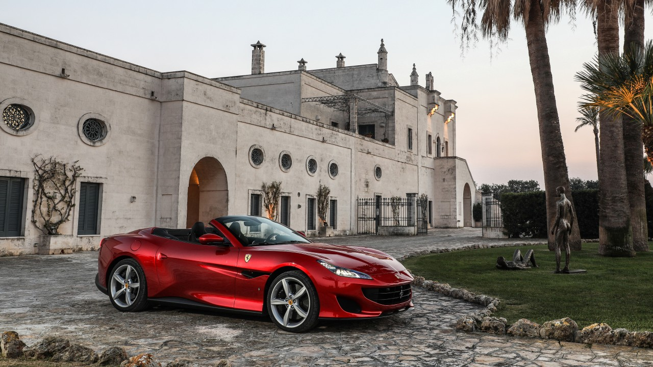 Ferrari 488 Spider >> 2018 Ferrari Portofino 4K Wallpaper | HD Car Wallpapers | ID #9649