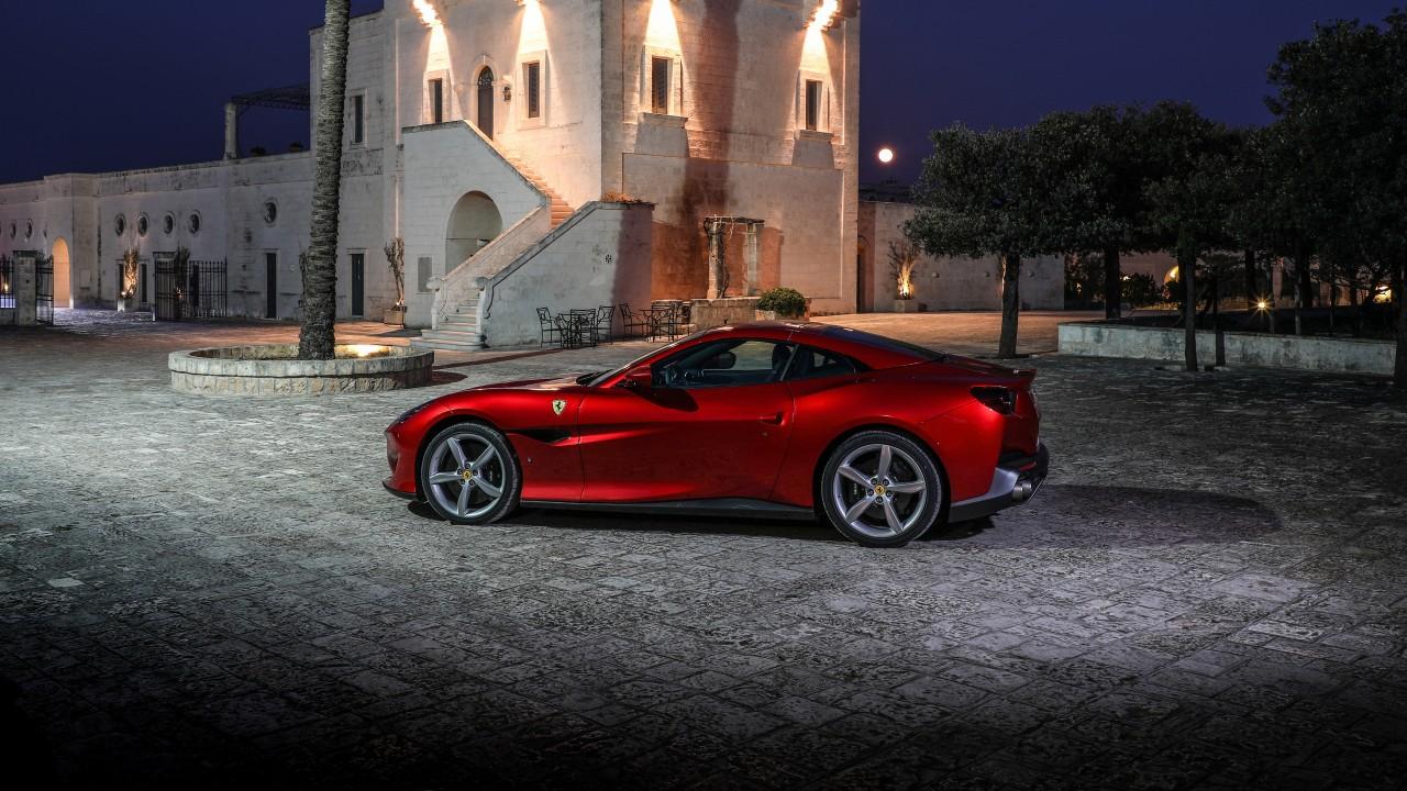 Ferrari Portofino K X on Alfa Romeo 2018