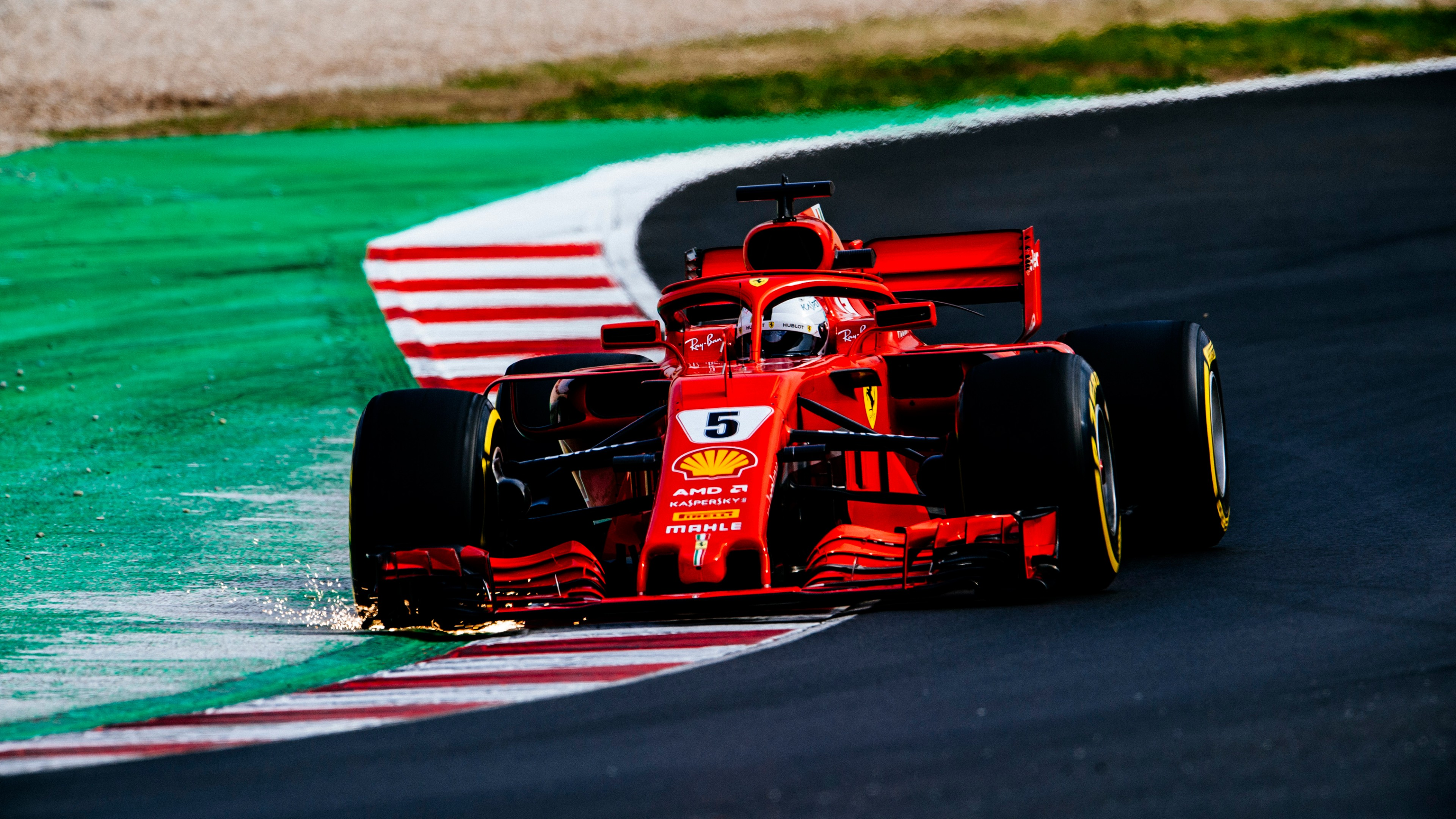 2018 Ferrari SF71H F1 Formula 1 4K 2 Wallpaper | HD Car ...